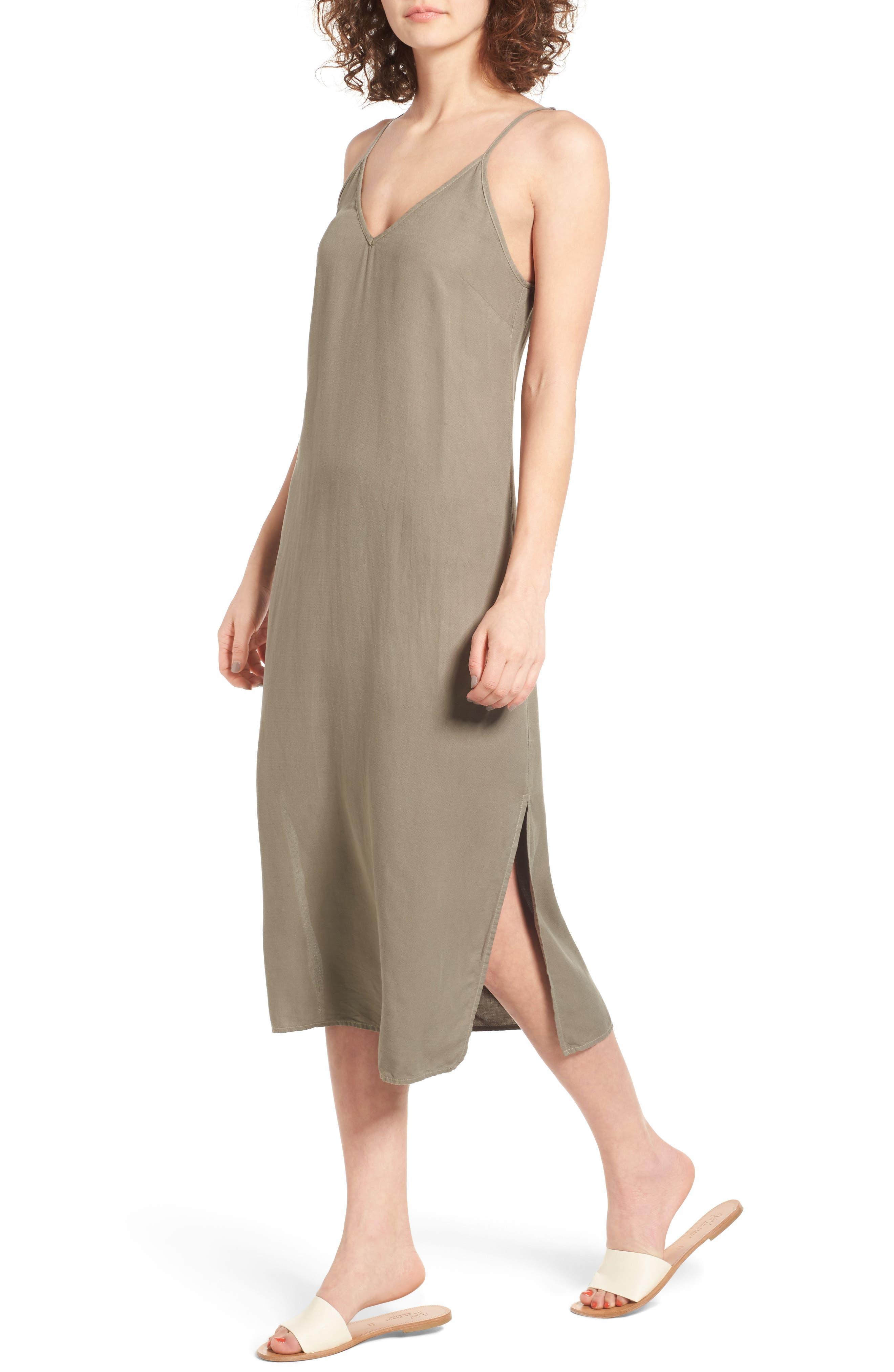Alternate Image 1 Selected - Splendid Tank Midi Dress