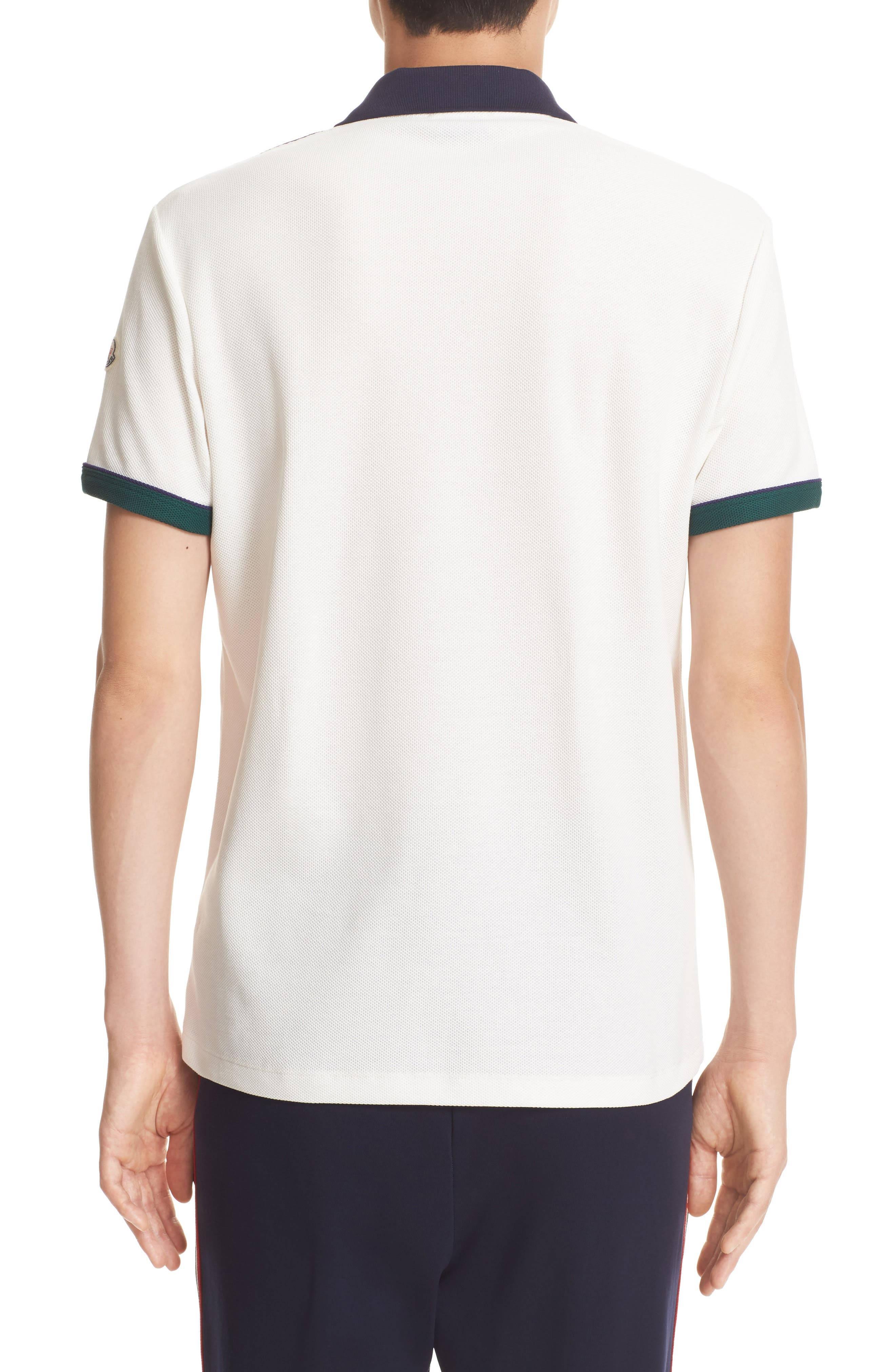 Alternate Image 2  - Moncler Snap Placket Polo