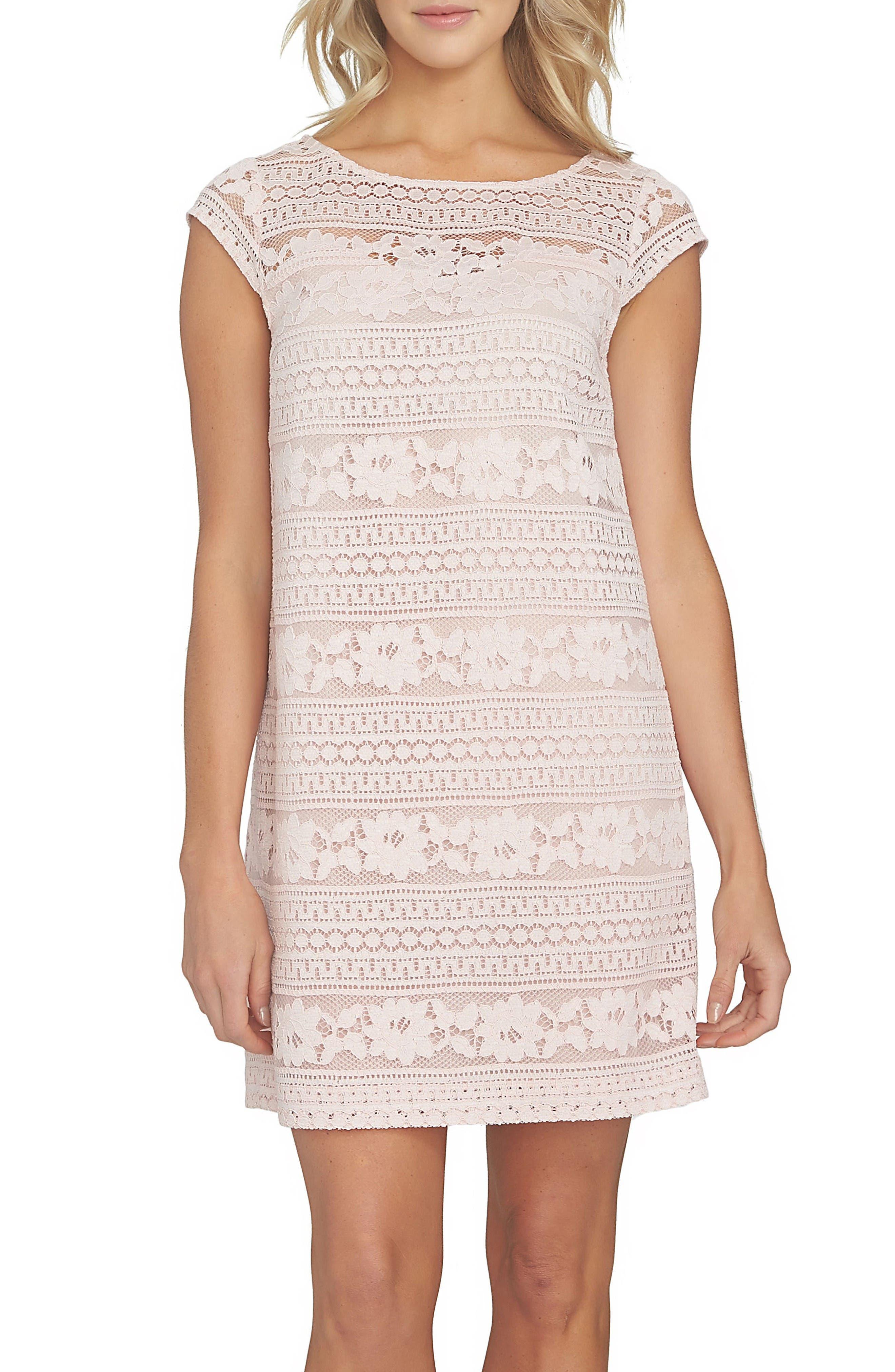 Cece Quinn Lace Shift Dress