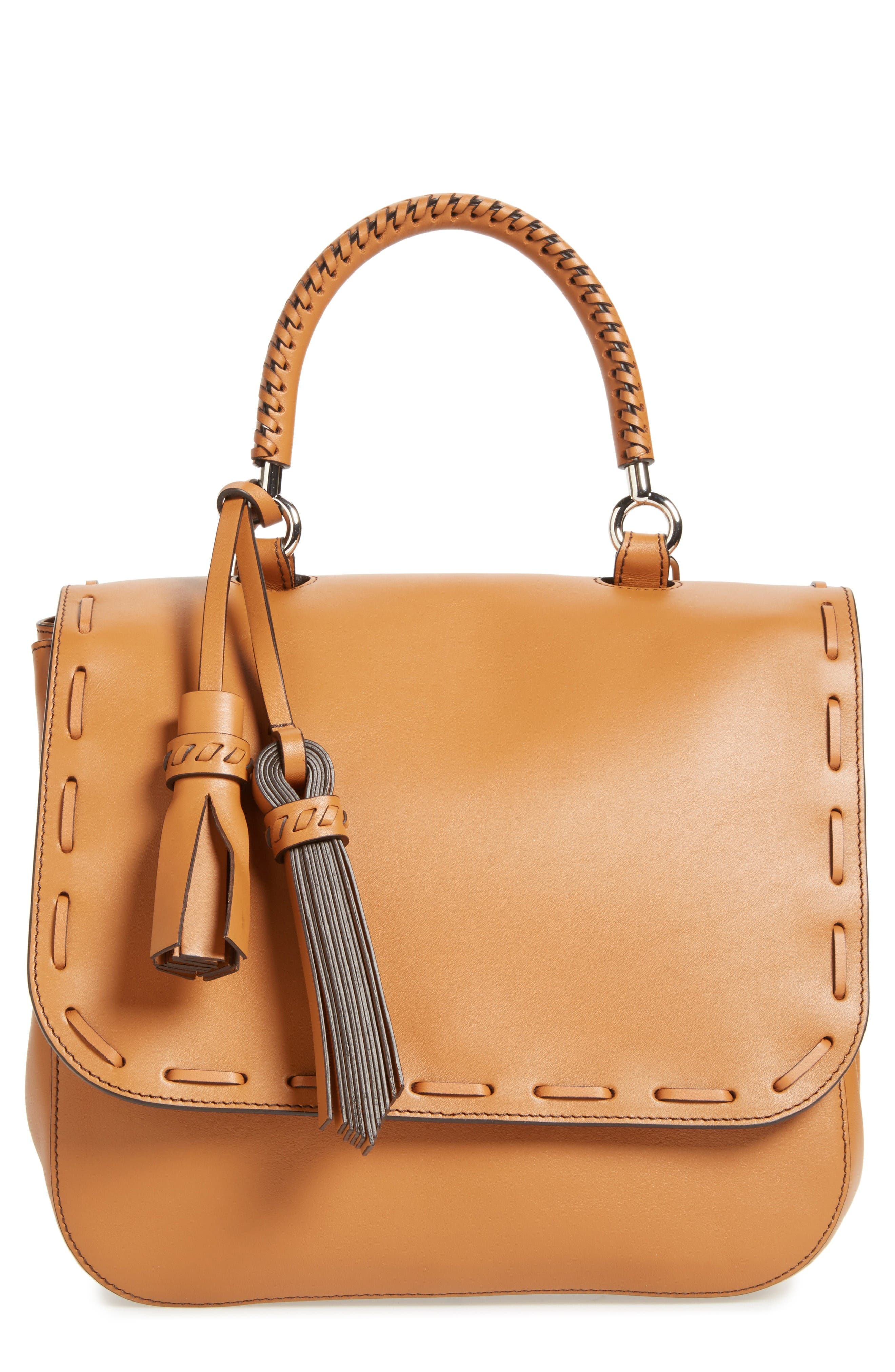 Alternate Image 1 Selected - Max Mara BoBag Leather Satchel