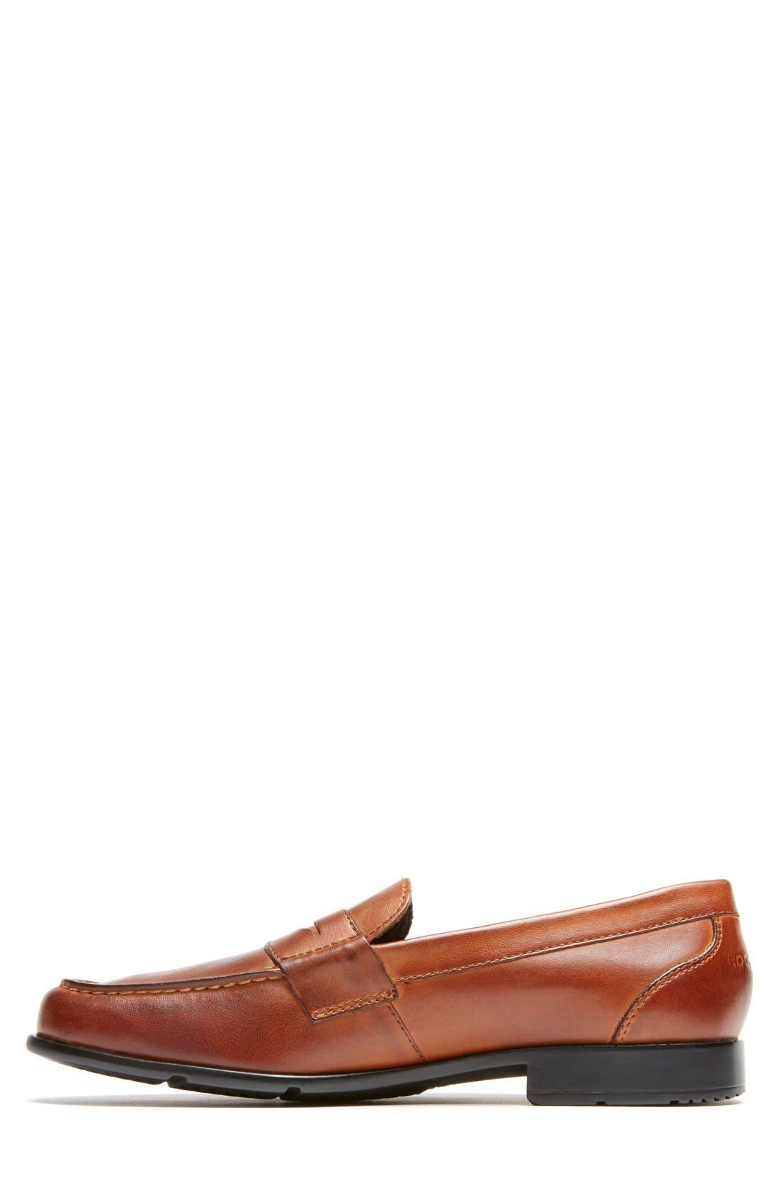 Alternate Image 2  - Rockport Leather Penny Loafer (Men)