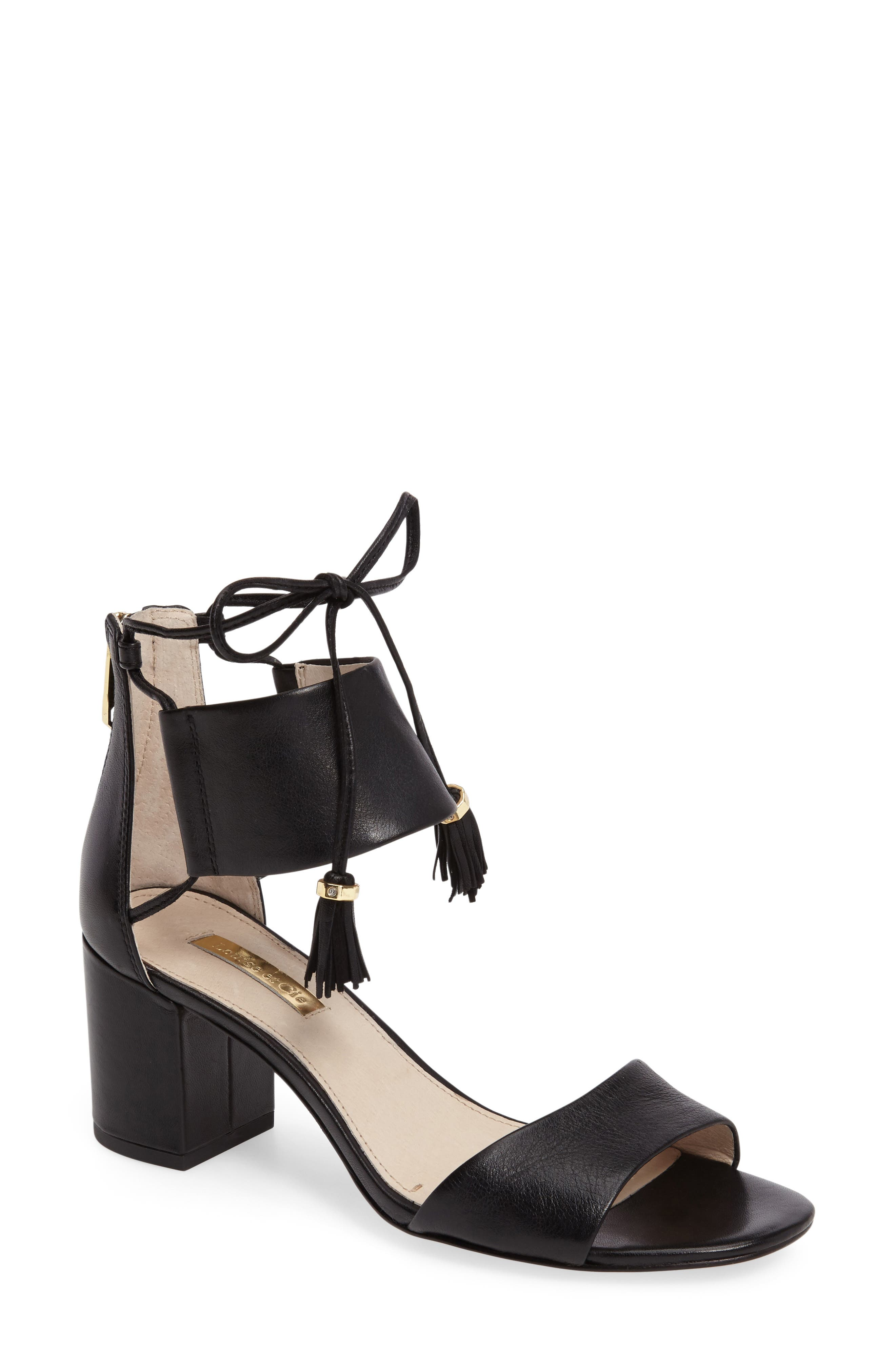 Alternate Image 1 Selected - Louise et Cie Keegan Block Heel Sandal (Women)