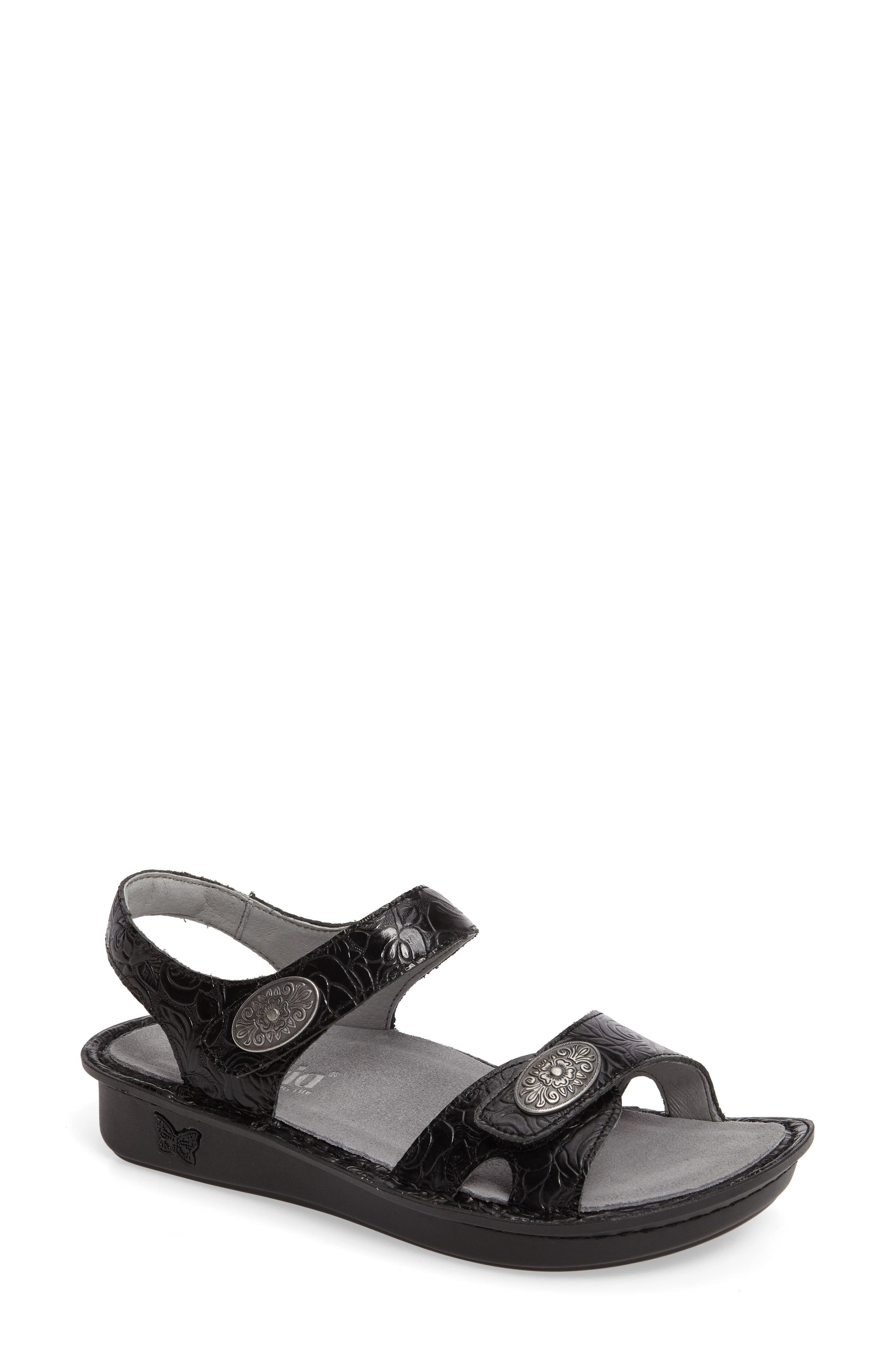 Vienna Sandal,                             Main thumbnail 1, color,                             Cowgirl Tar Leather