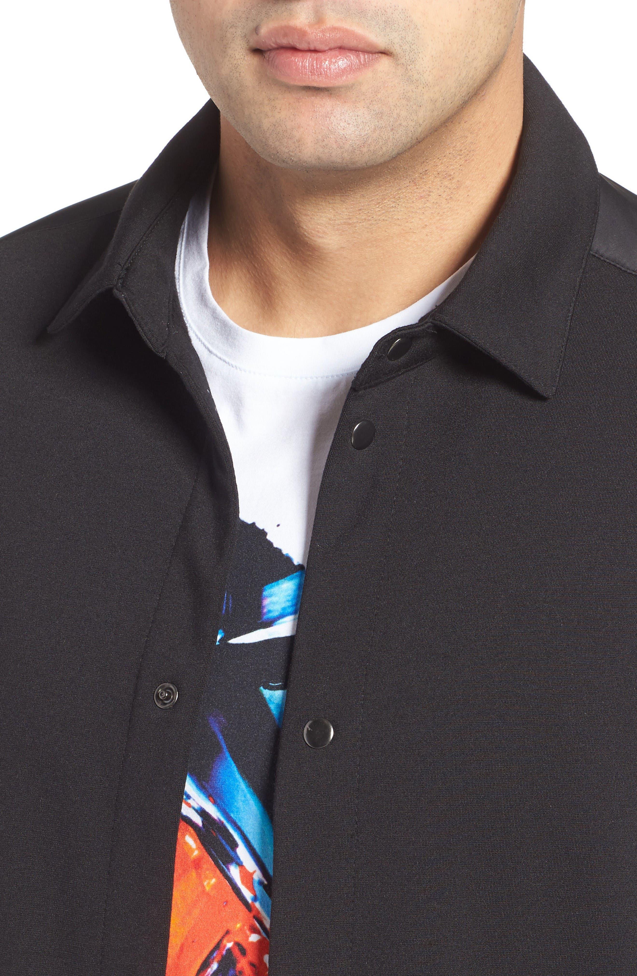 Alternate Image 4  - Bugatchi Snap Jacket