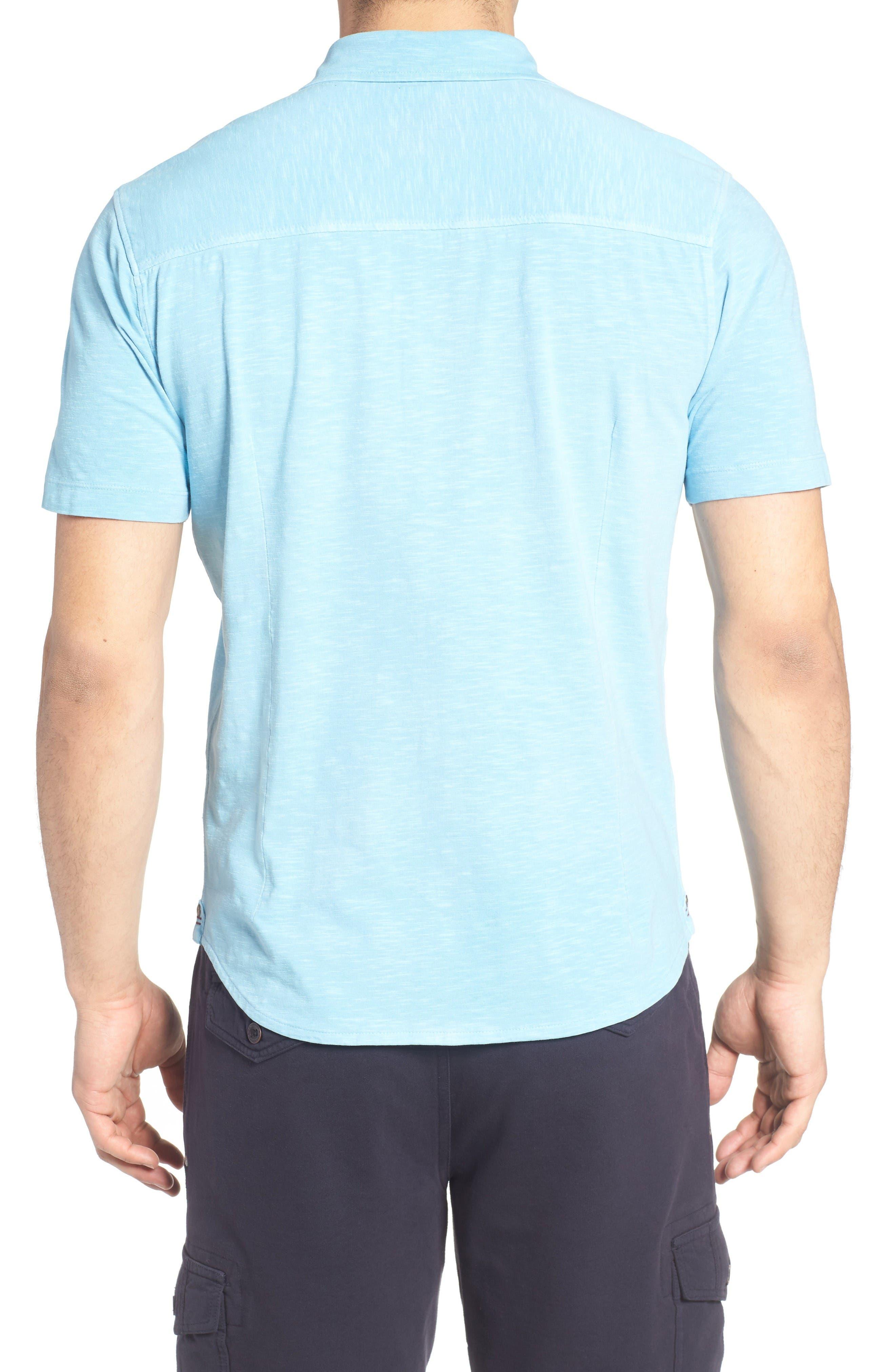 Alternate Image 2  - Thaddeus McAdams Slub Jersey Sport Shirt