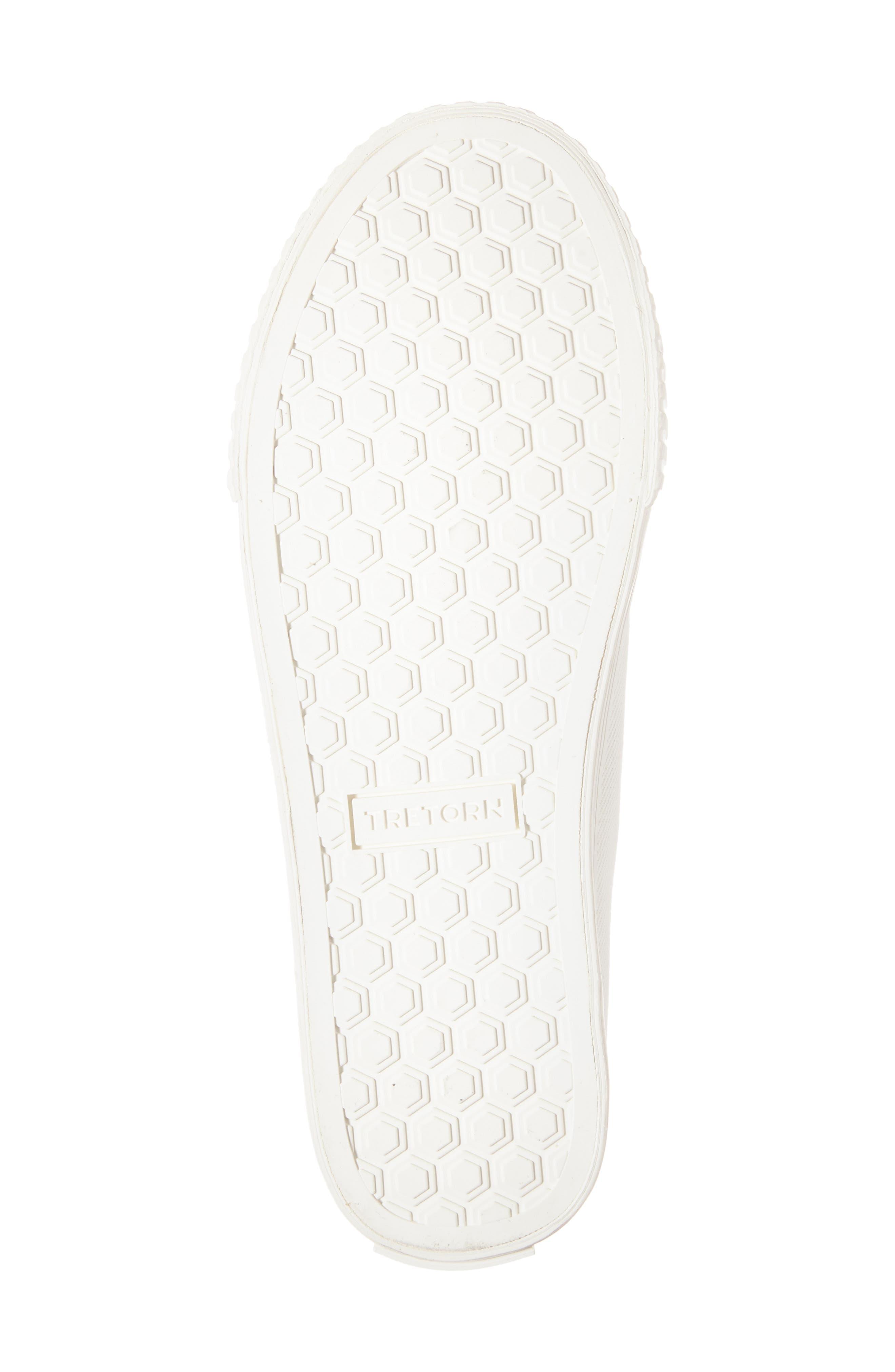 Meg Slip-On Sneaker,                             Alternate thumbnail 4, color,                             Vintage White