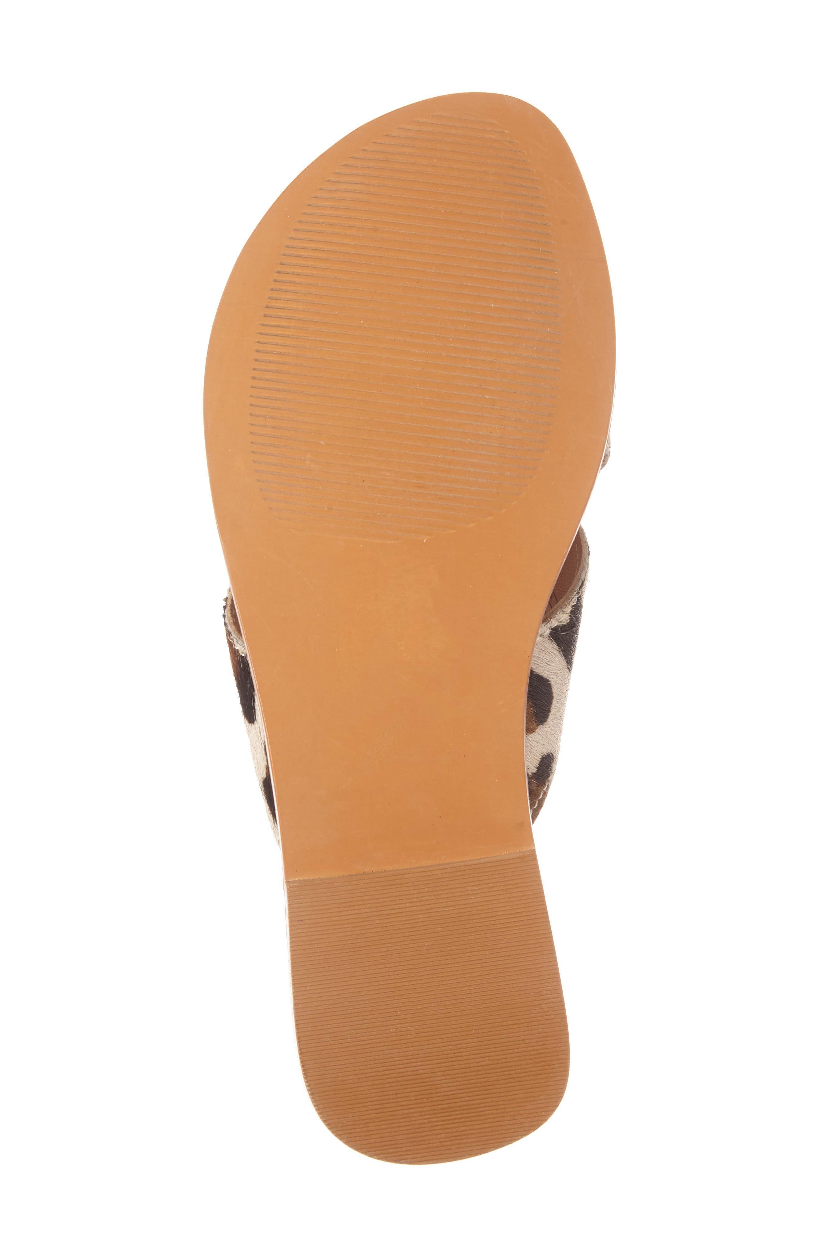 Alternate Image 4  - Ariat Unbridled Ava Genuine Calf Hair Sandal (Women)
