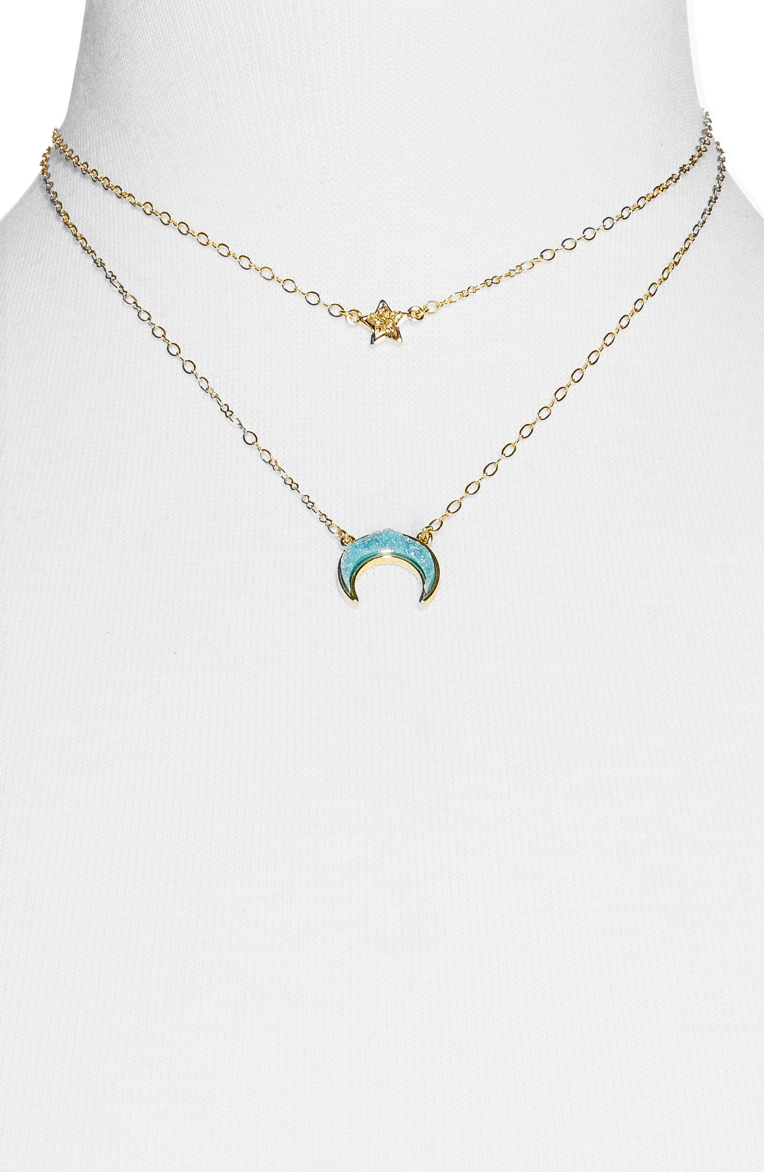Alternate Image 2  - BaubleBar Skye Layered Necklace
