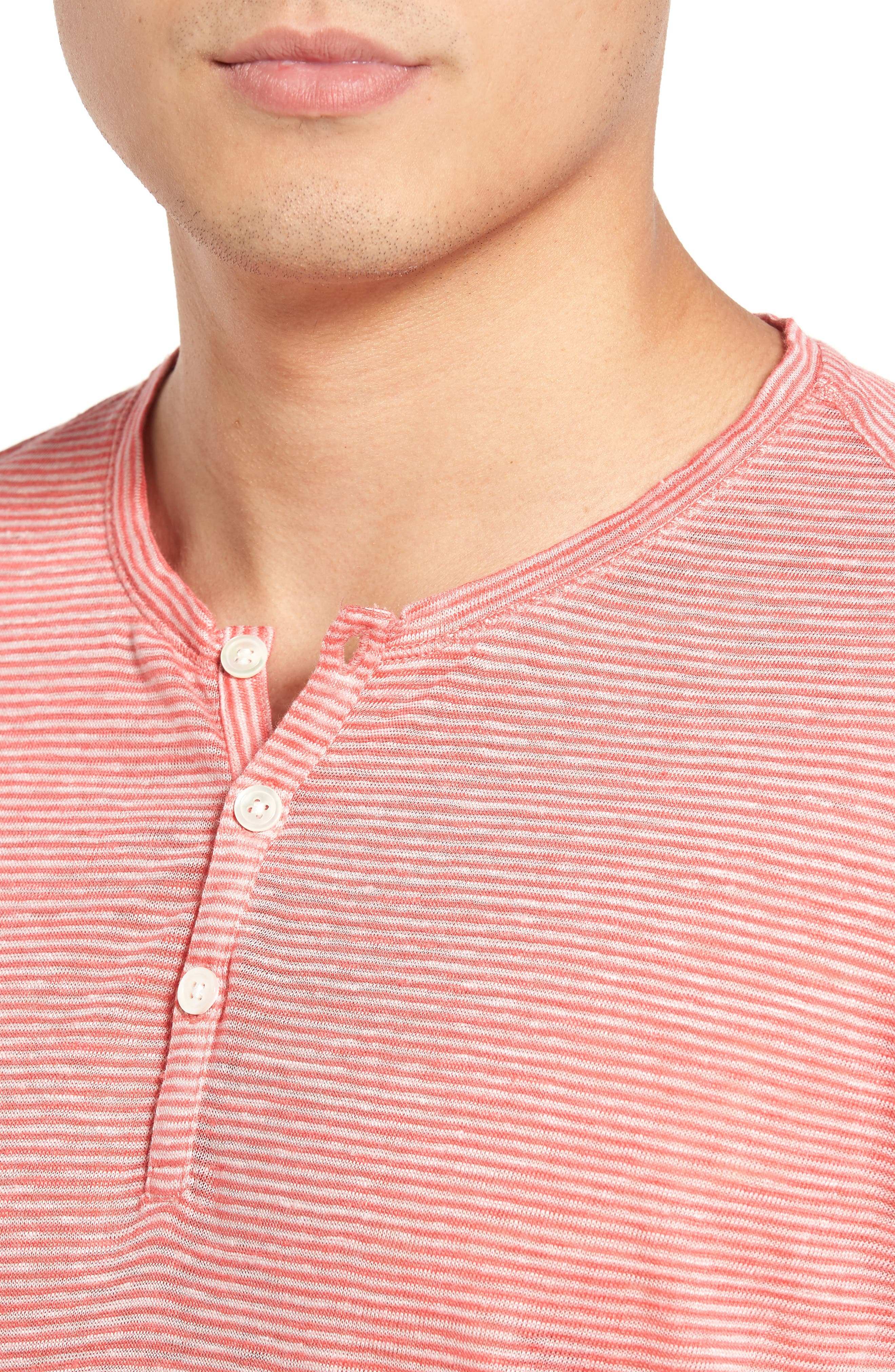 Alternate Image 4  - Zachary Prell Carpel Stripe Linen Knit Henley