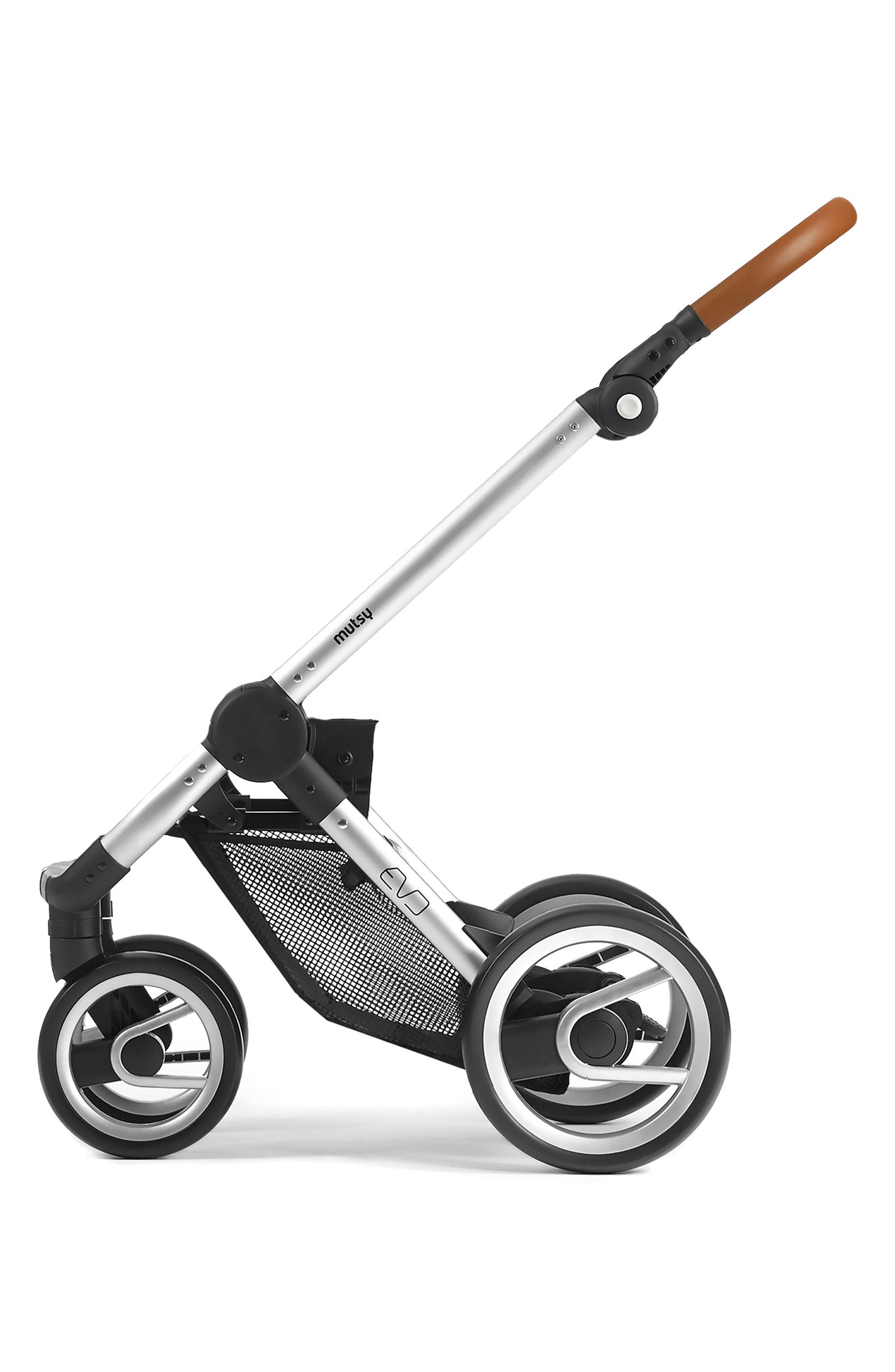 Evo - Urban Nomad Stroller,                             Alternate thumbnail 2, color,                             Silver/ Blue