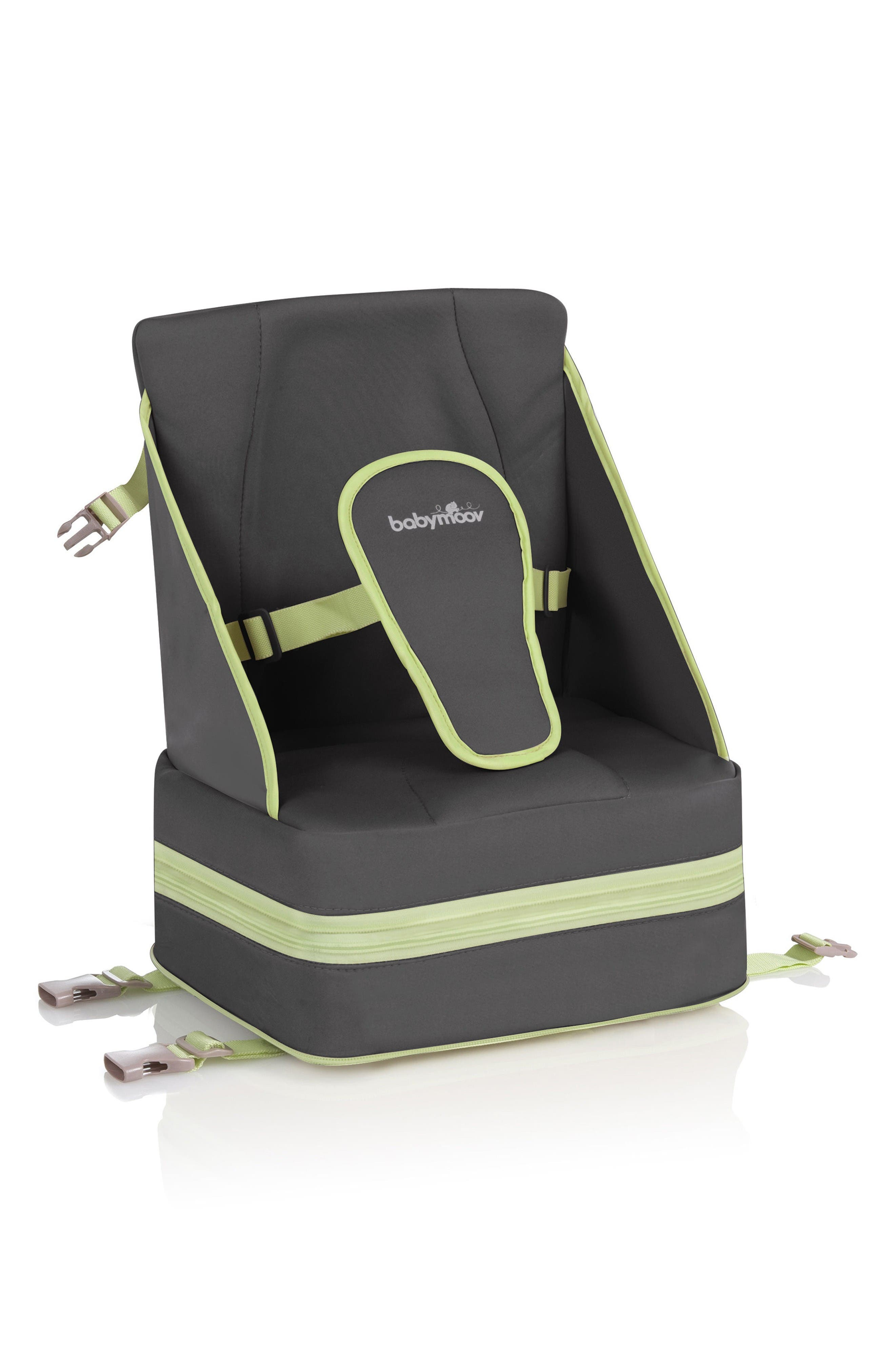 Up & Go Booster Seat,                             Main thumbnail 1, color,                             Grey