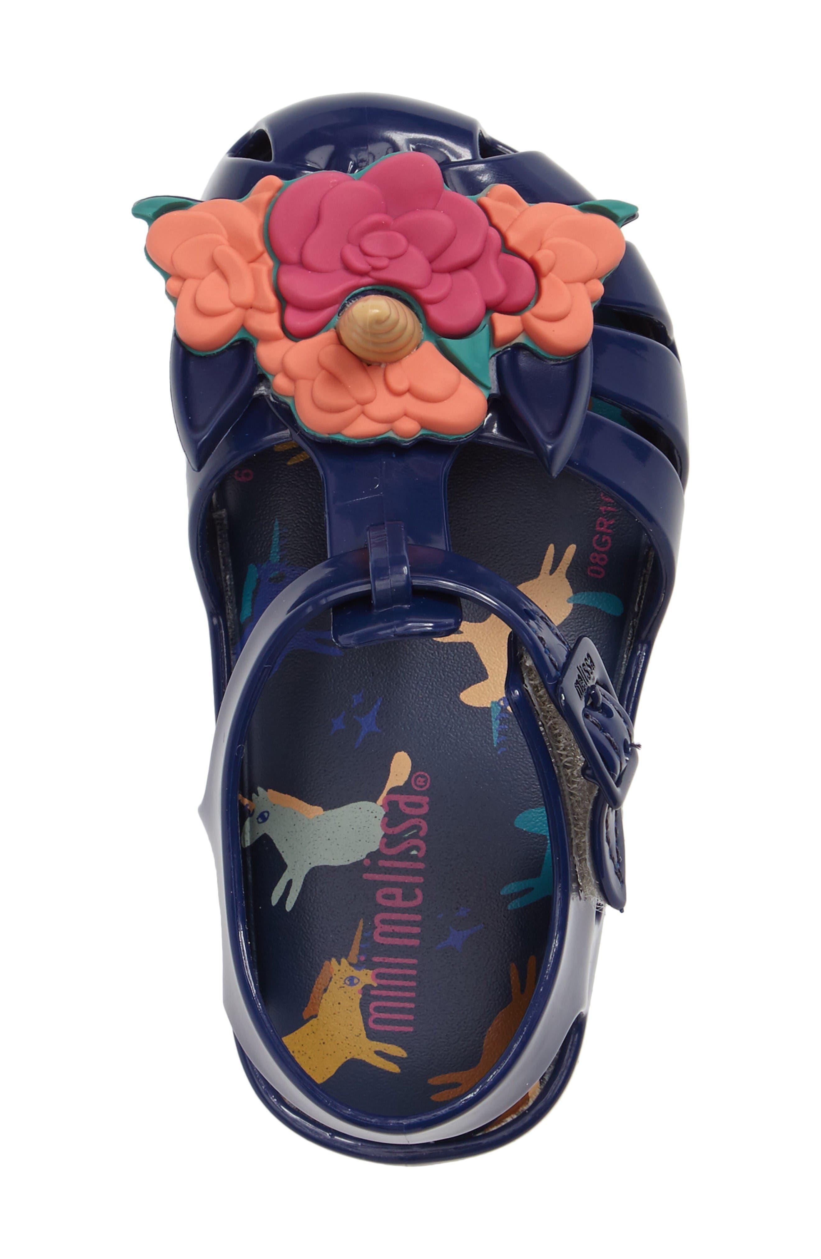 Alternate Image 3  - Mini Melissa Aranha Fabula Unicorn Sandal (Walker & Toddler)