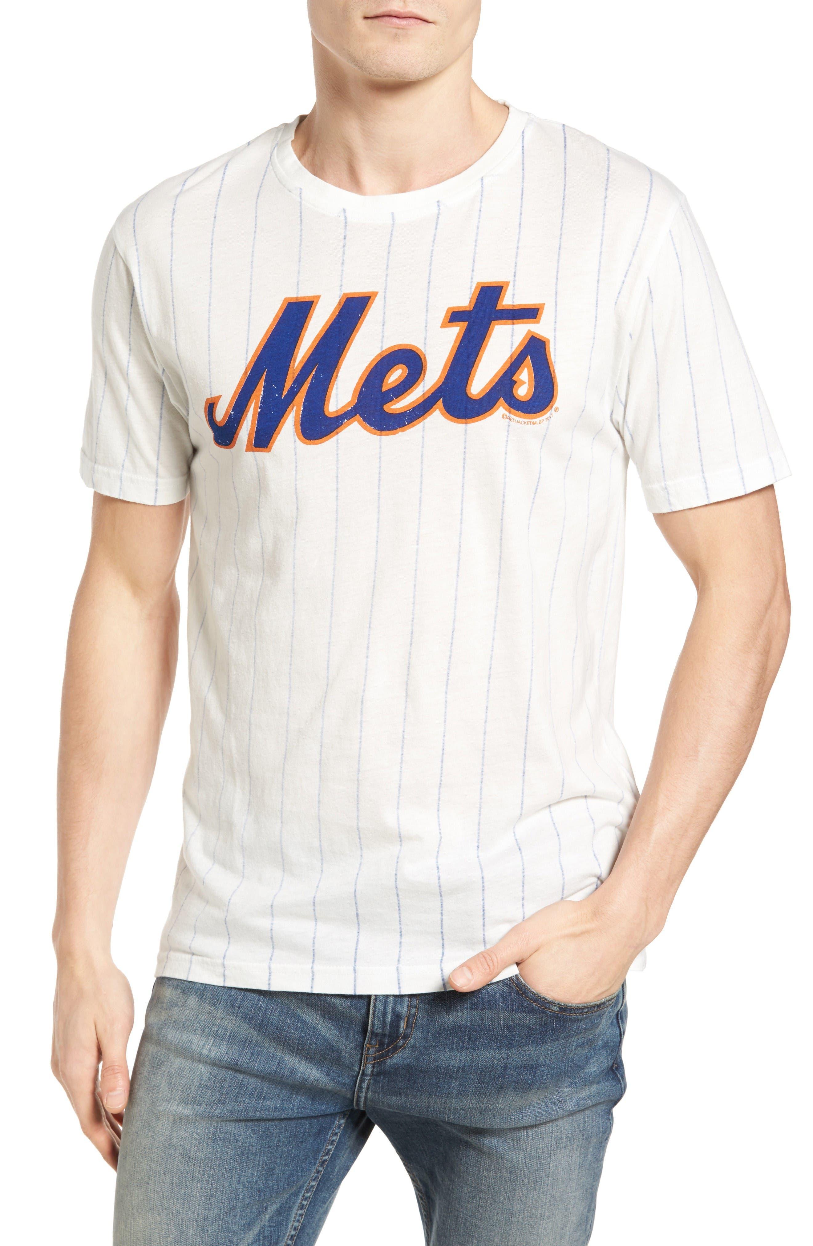 Brass Tack New York Mets T-Shirt,                         Main,                         color, Cream/ Royal