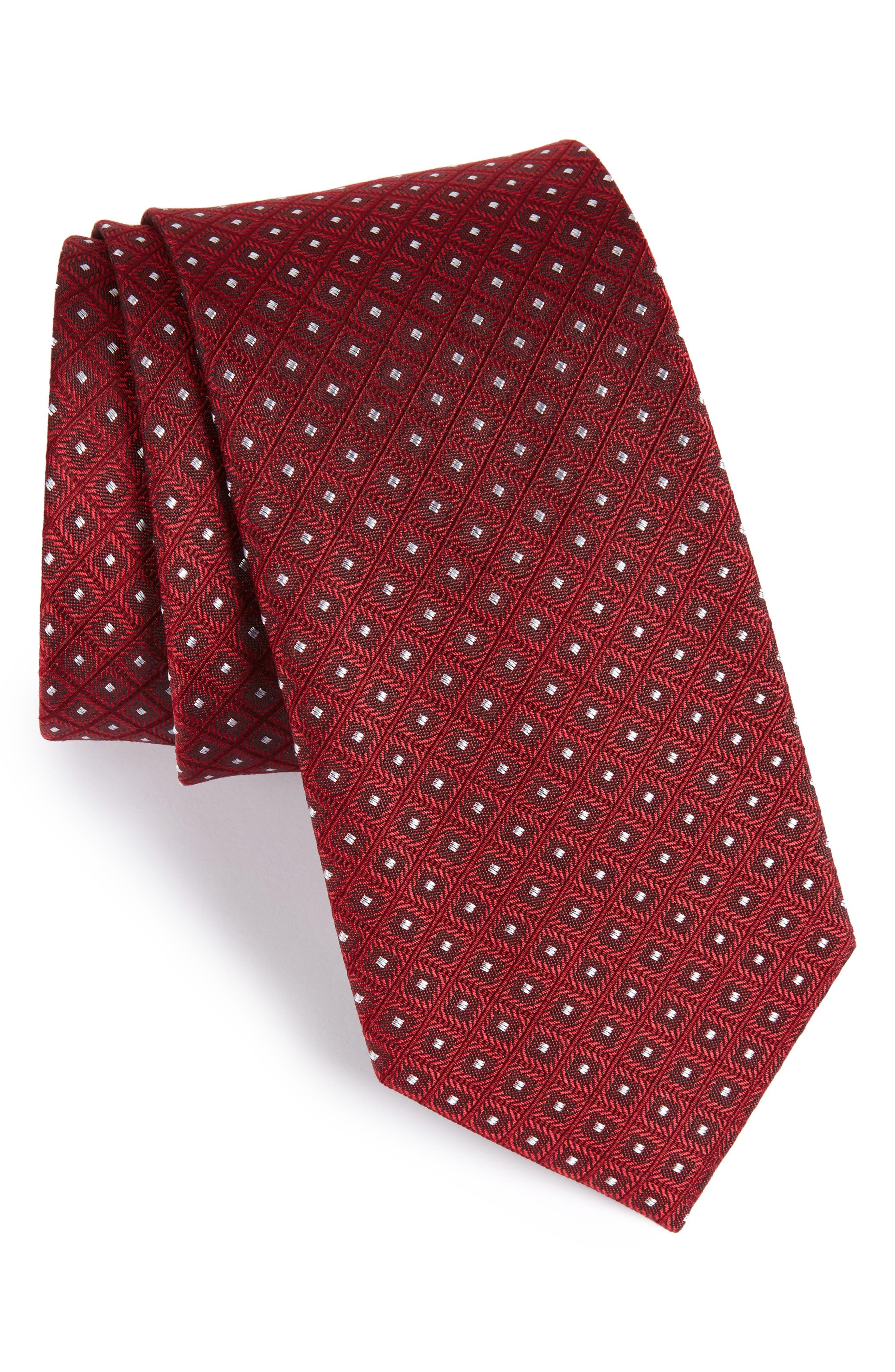 The Tie Bar Wacker Drive Silk Tie