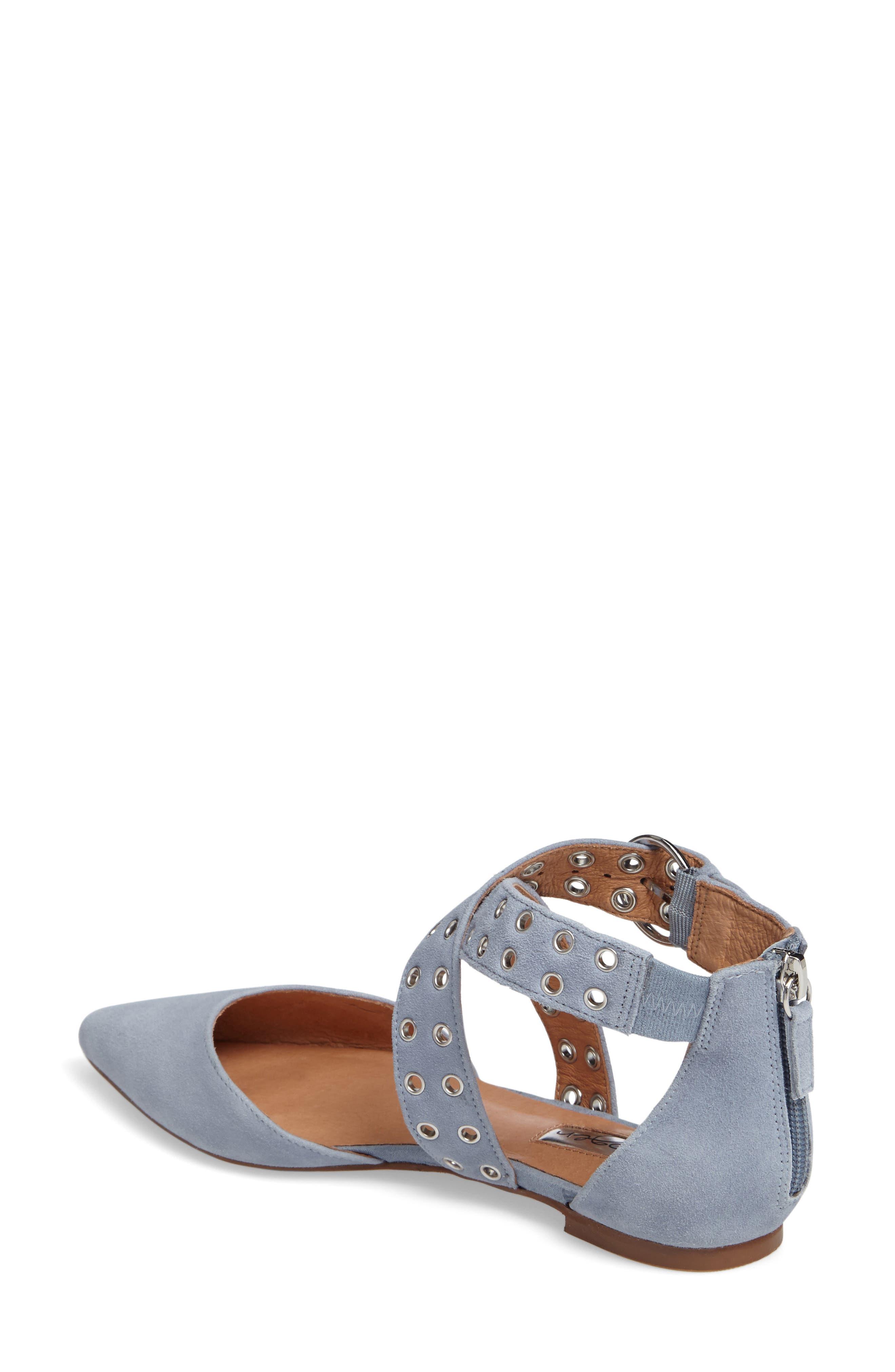 Alternate Image 2  - Halogen® Molly Pointy Toe Flat (Women)