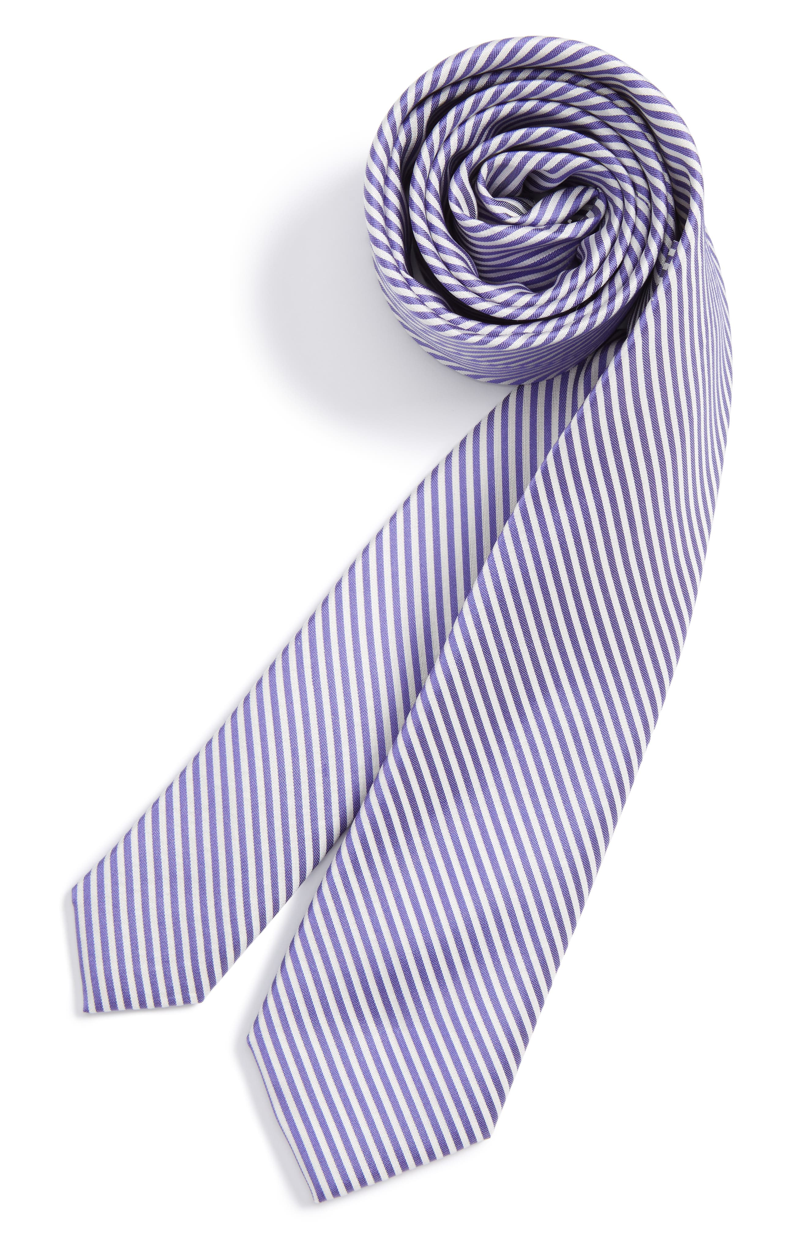Nordstrom Stripe Silk Tie (Big Boys)