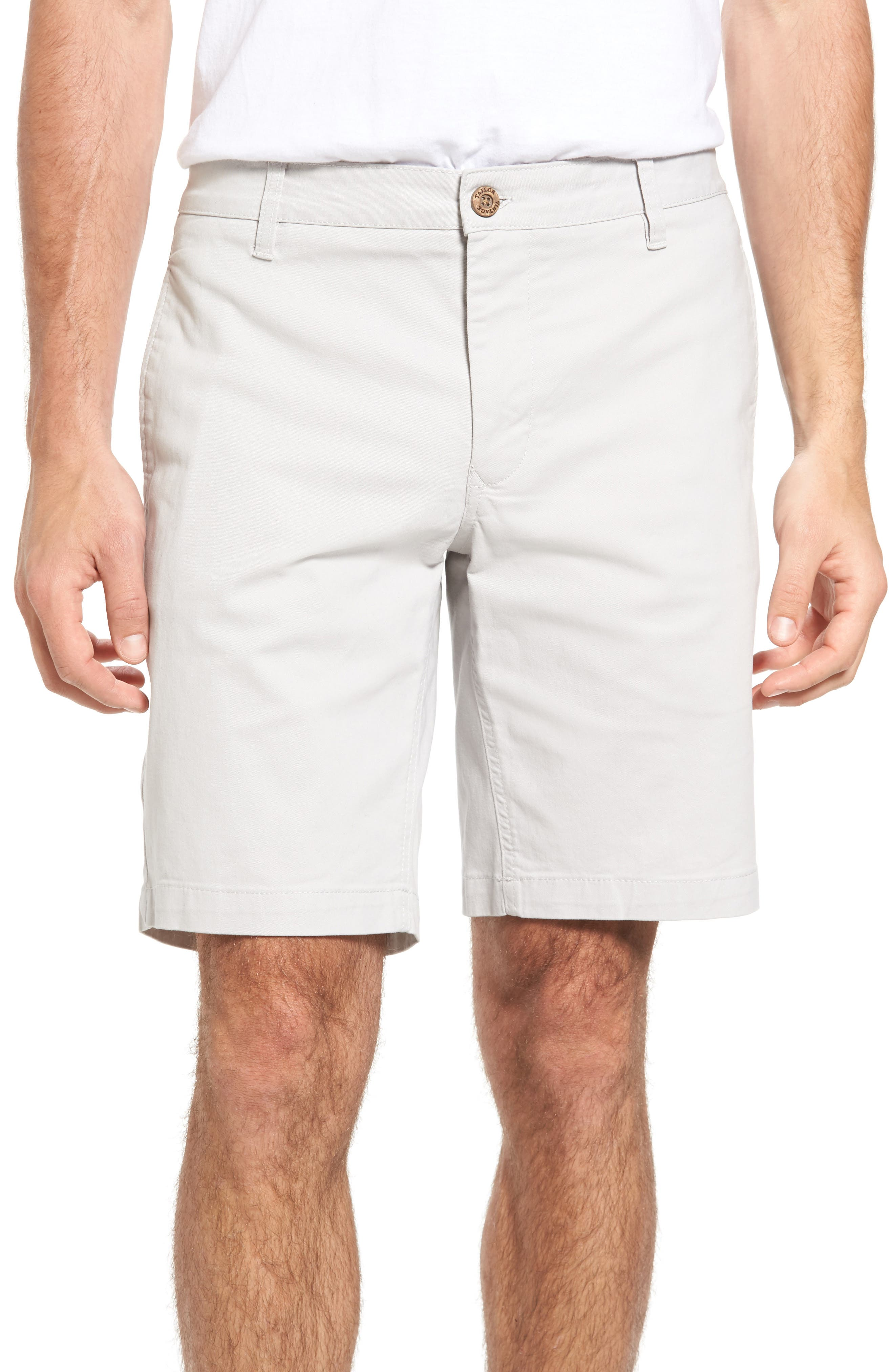 Stretch Twill Walking Shorts,                         Main,                         color, Cloud