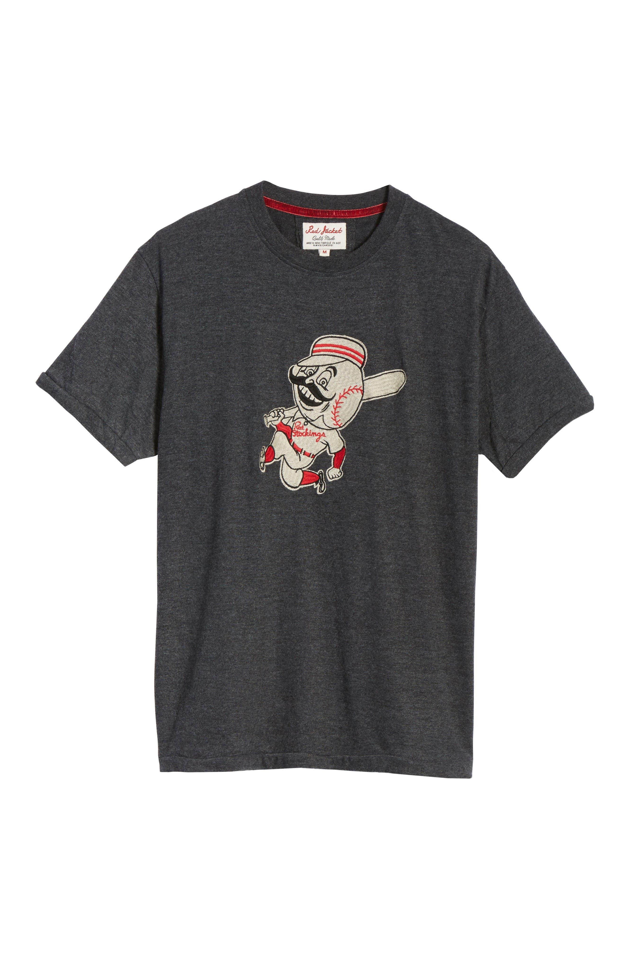 Alternate Image 6  - American Needle Hillwood Cincinnati Reds T-Shirt