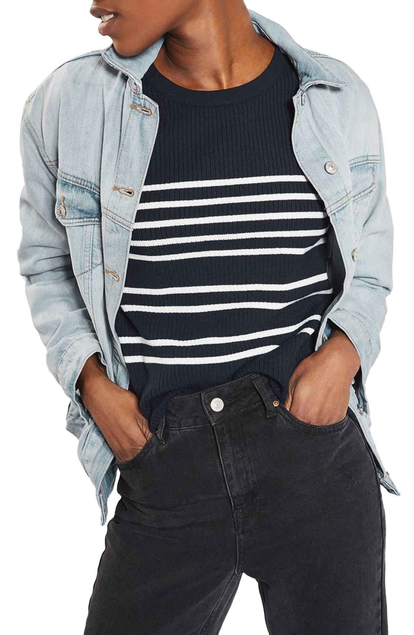 Topshop Oversize Denim Jacket