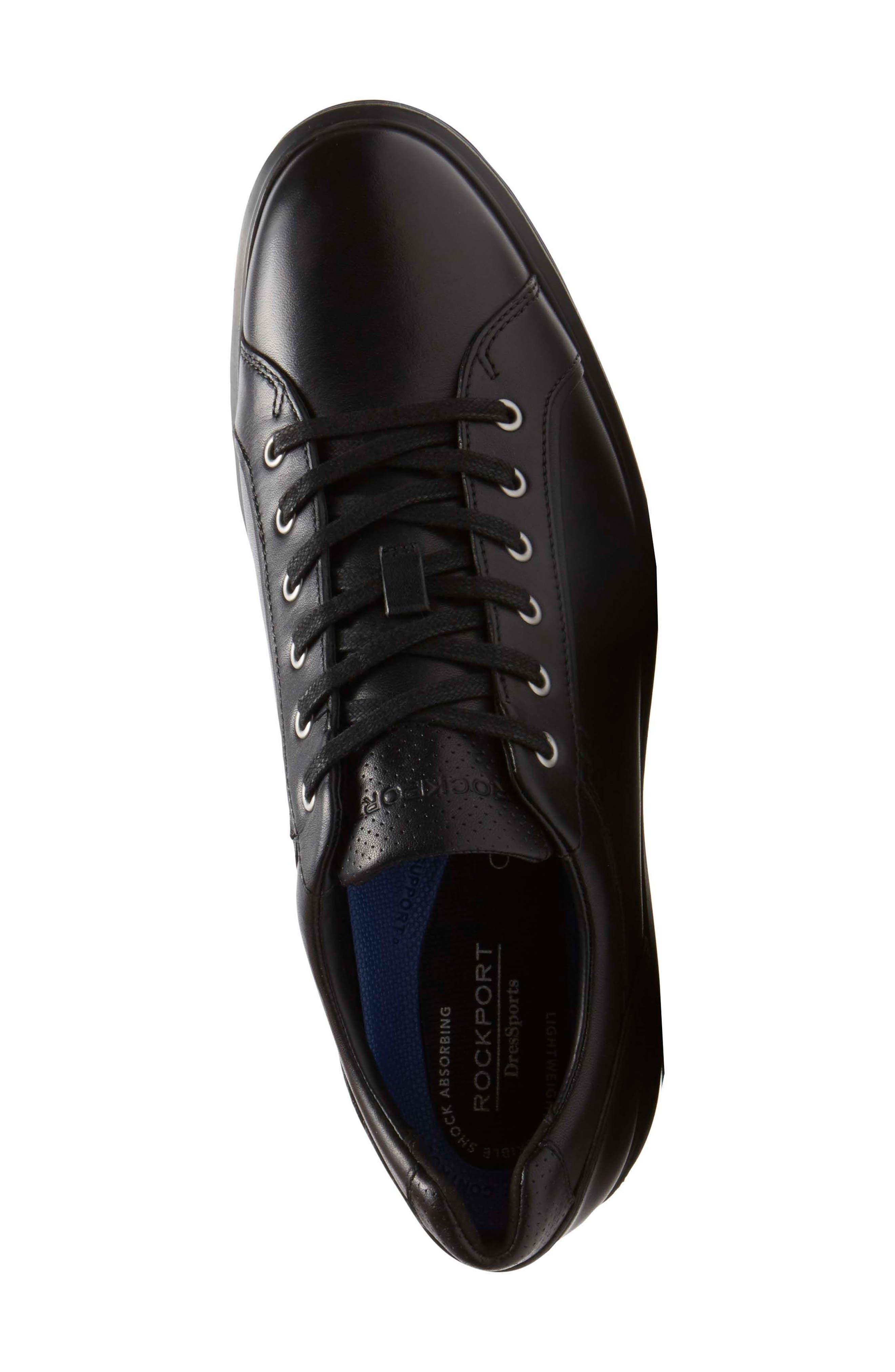 Dressports 2 Lite Plain Toe Derby,                             Alternate thumbnail 4, color,                             Black 2 Leather