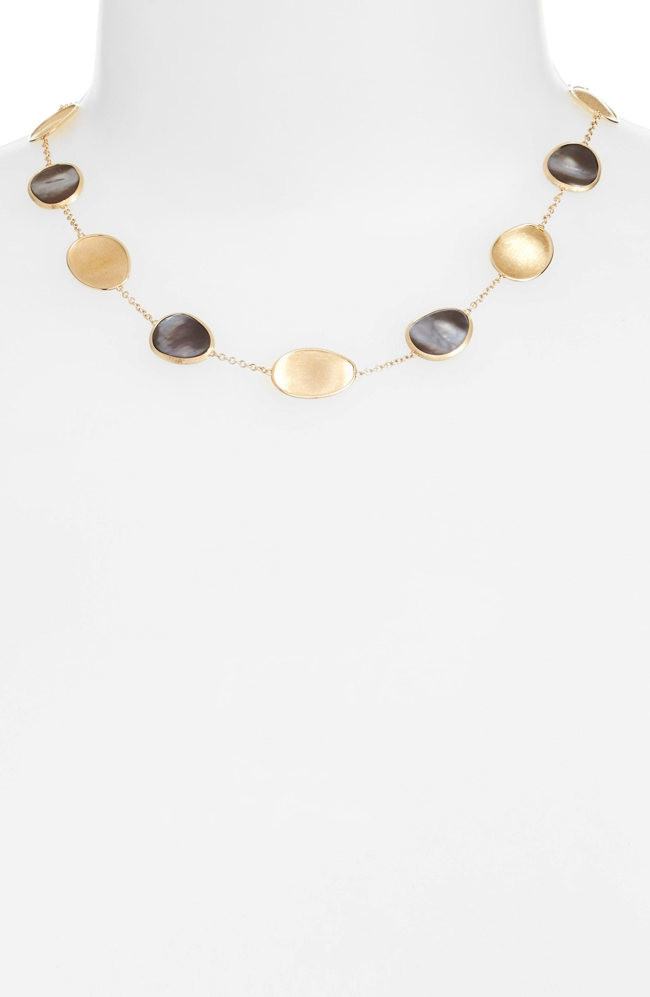 Alternate Image 2  - Marco Bicego Lunaria Mother of Pearl Collar Necklace