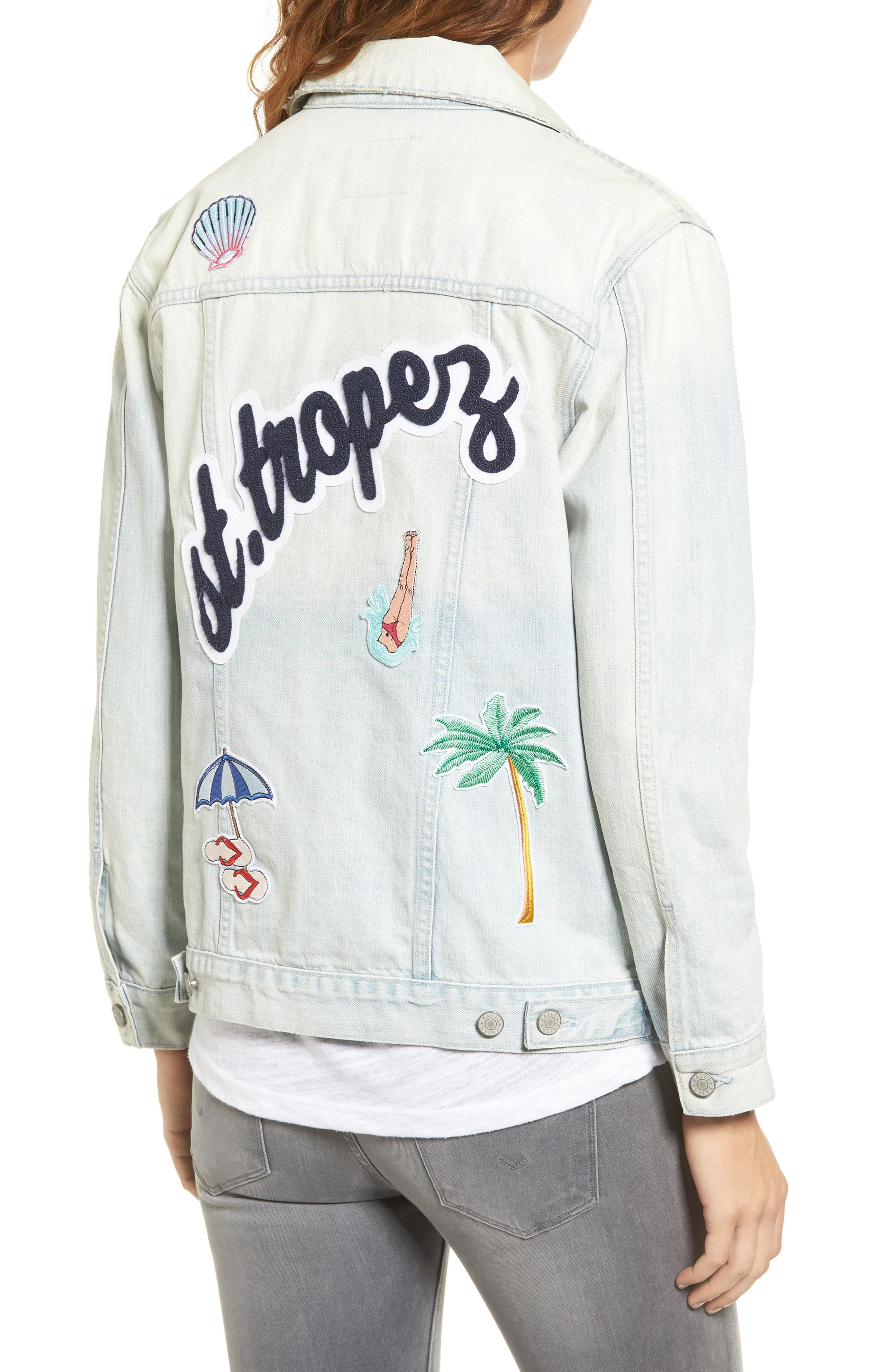 Alternate Image 3  - Rails Knox - St. Tropez Denim Jacket