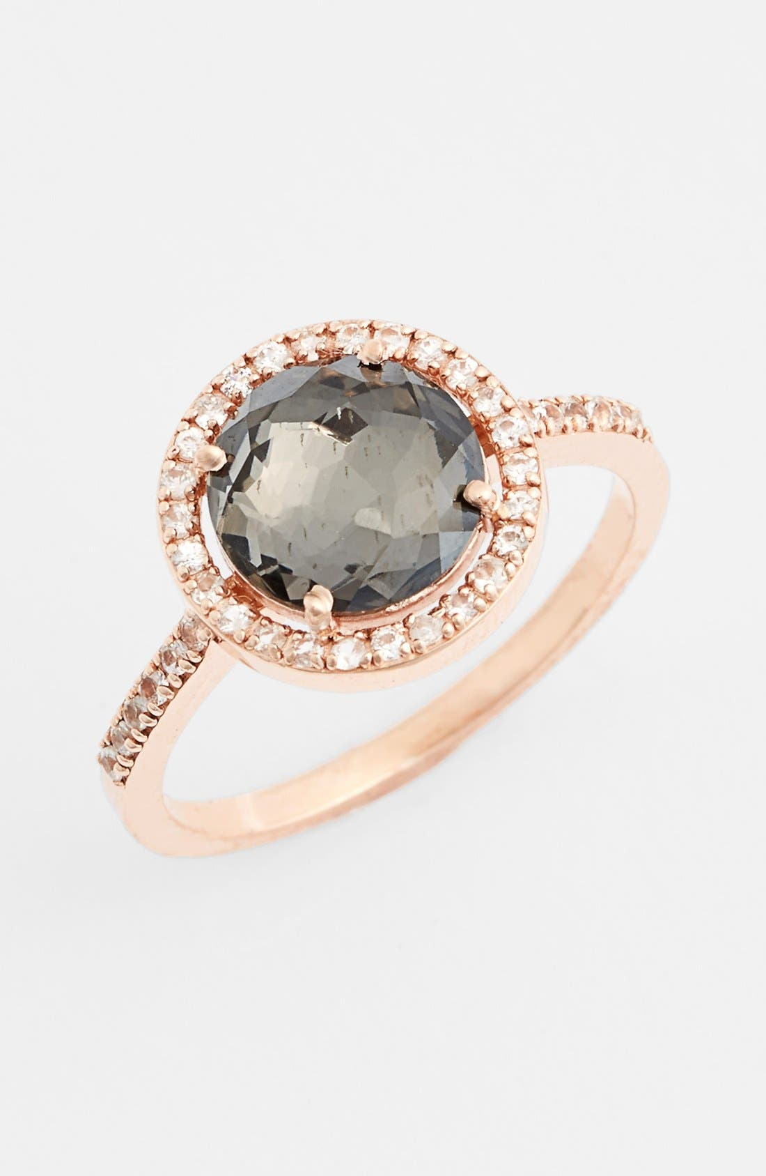 Alternate Image 1 Selected - KALAN by Suzanne Kalan Round Sapphire Bezel Ring