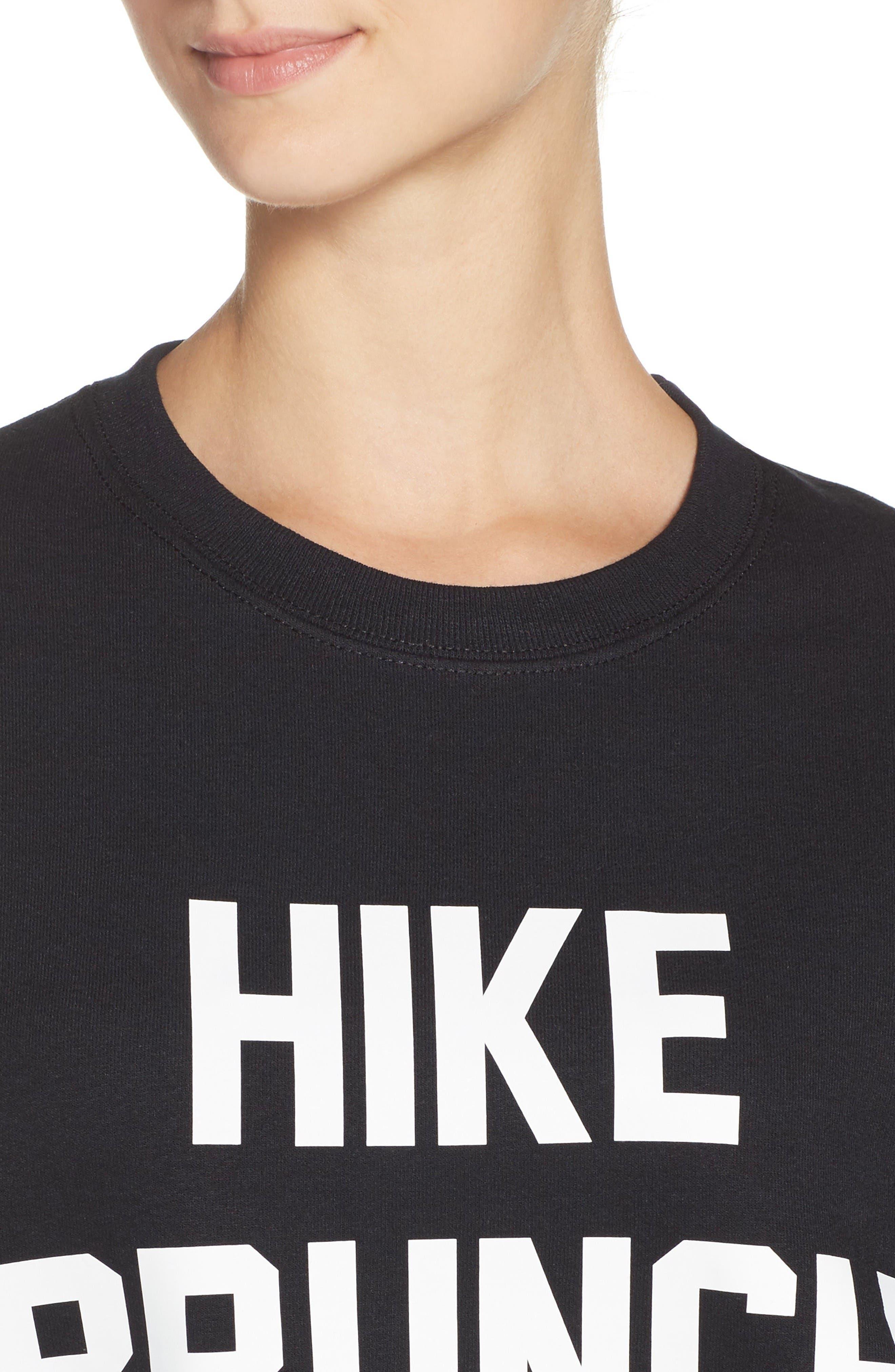 Alternate Image 4  - Private Party Hike Brunch Repeat Sweatshirt