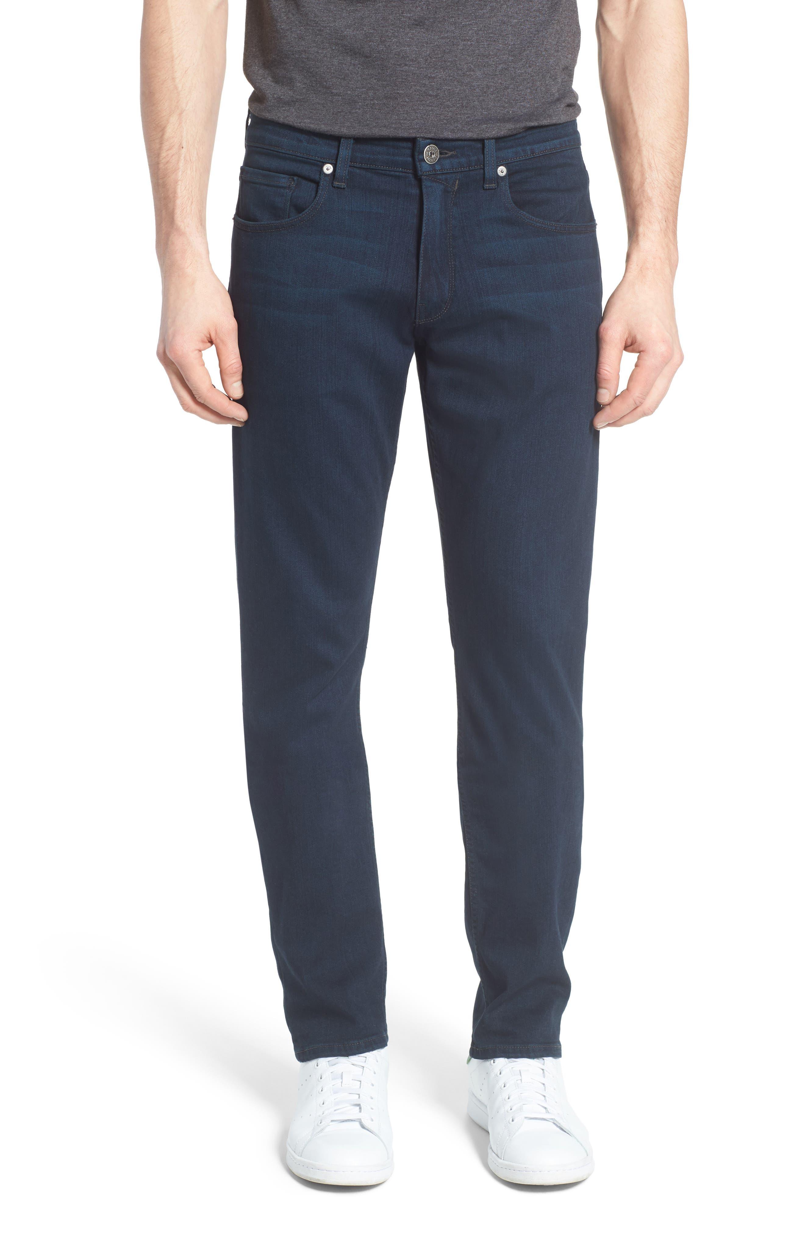 Main Image - PAIGE Transcend - Federal Slim Straight Leg Jeans (Arlo)