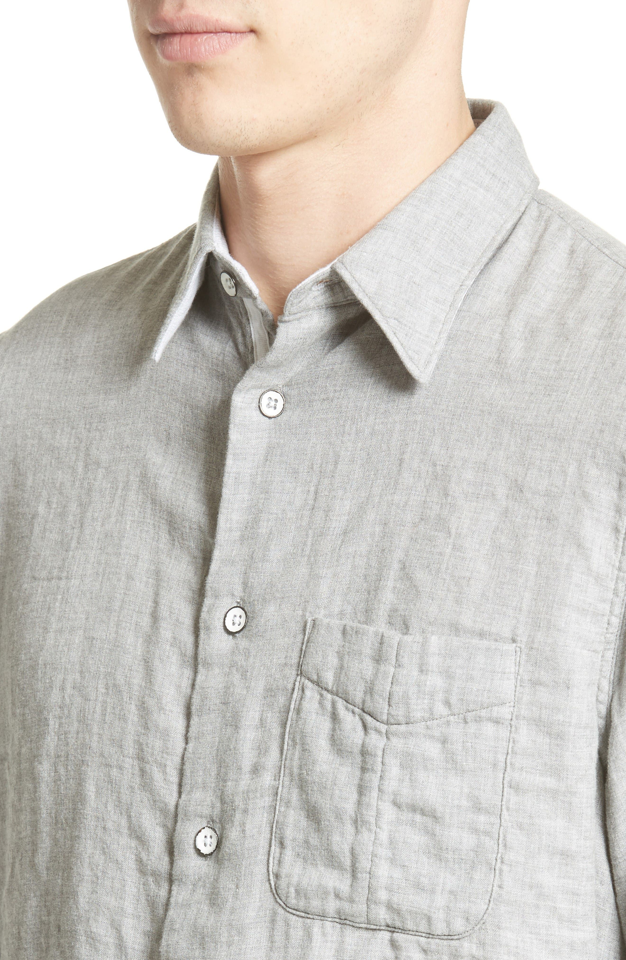 Alternate Image 4  - rag & bone Beach Trim Fit Sport Shirt