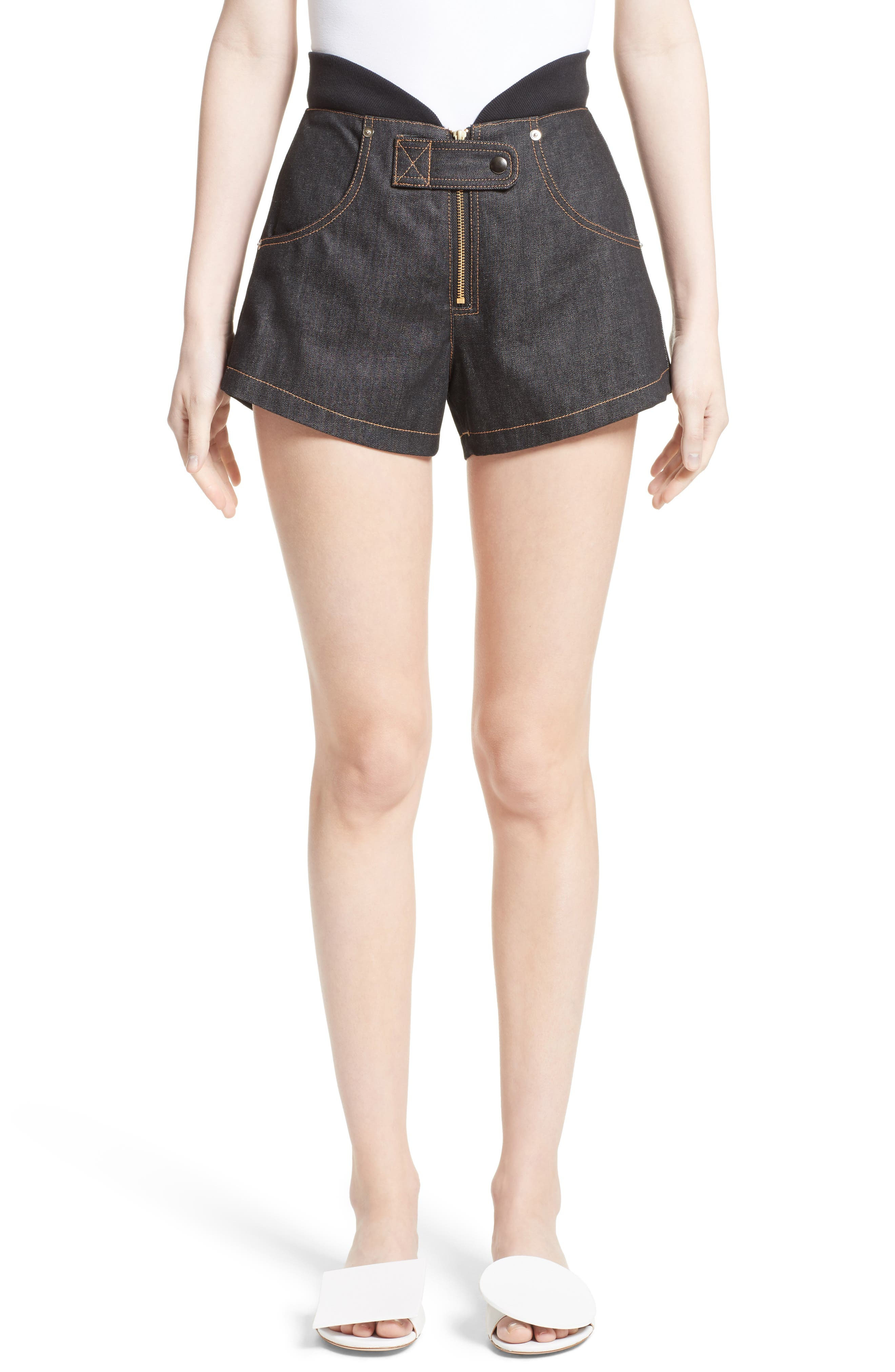 Vejas Denim Flight Shorts (Nordstrom Exclusive)