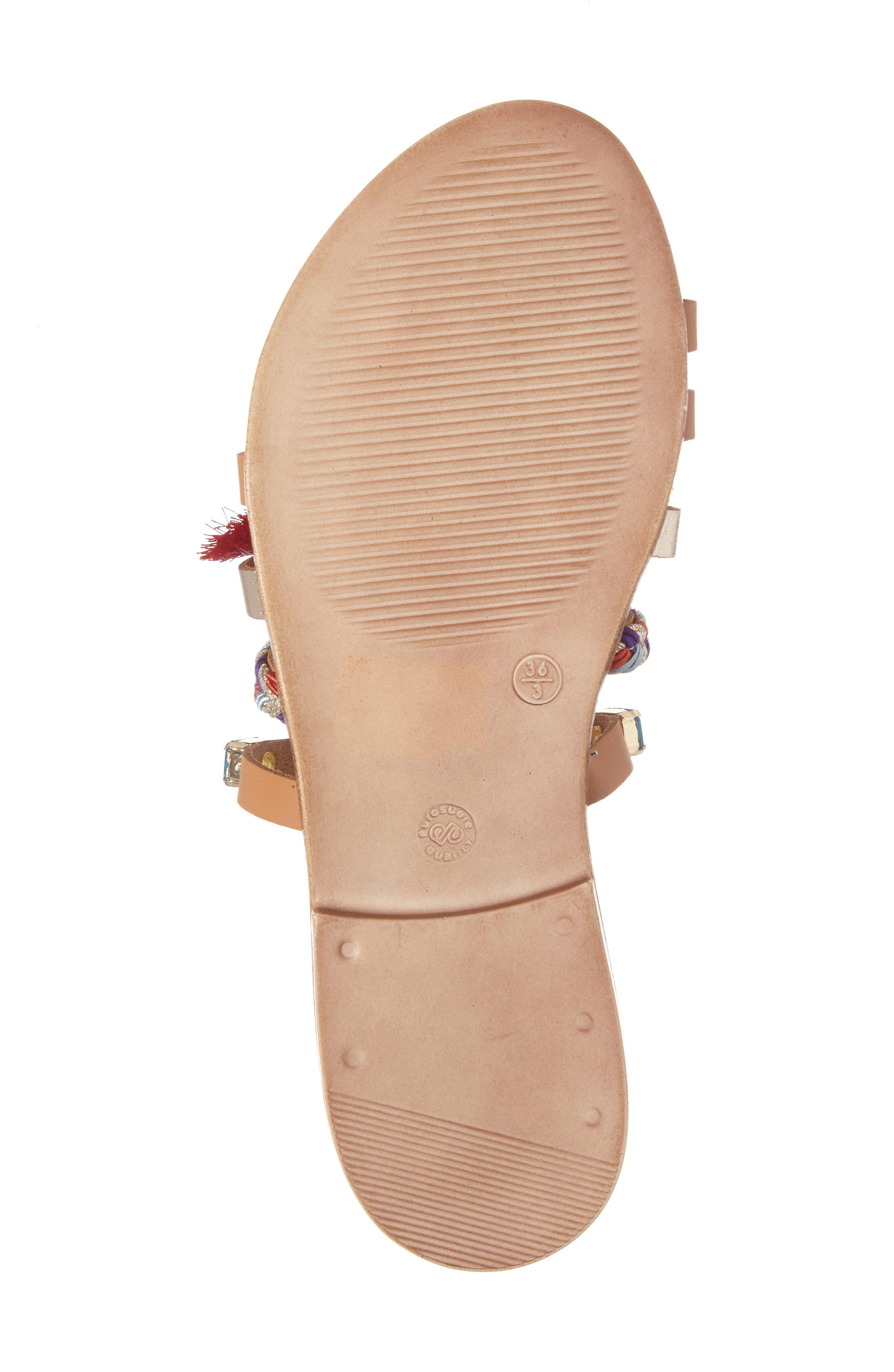Alternate Image 6  - Steve Madden Cary Embellished Sandal (Women)