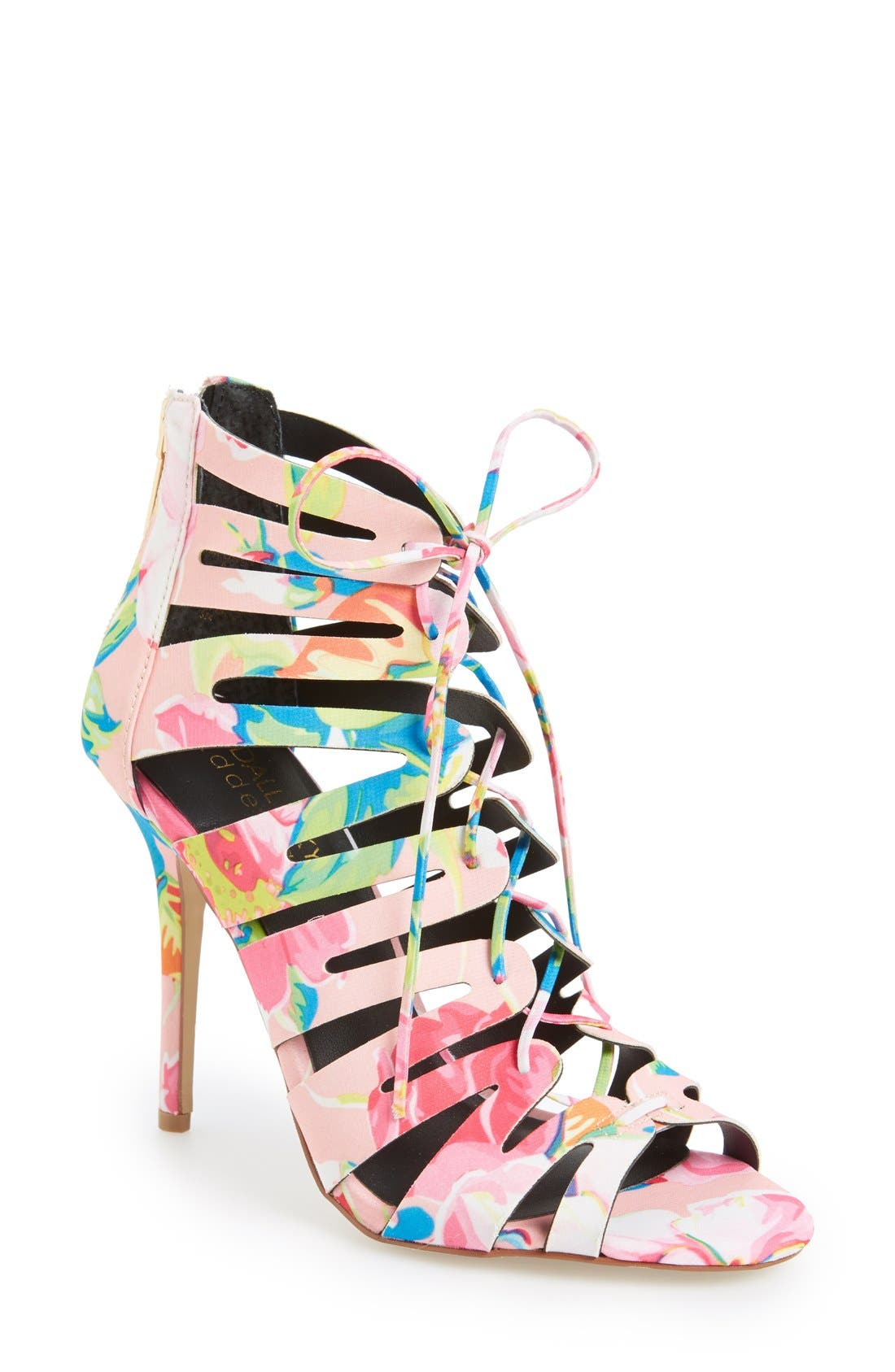 Alternate Image 1 Selected - KENDALL + KYLIE Madden Girl 'Daylittle' Ghillie Sandal (Women)