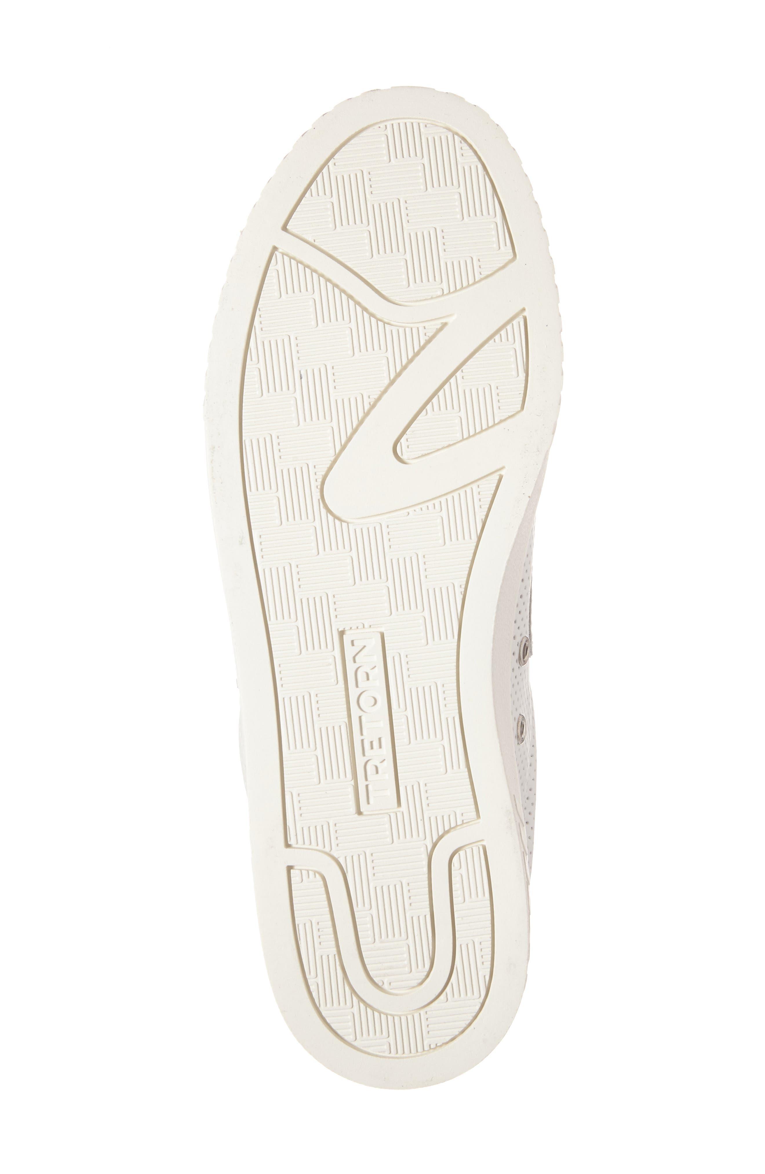 Camden 2 Sneaker,                             Alternate thumbnail 6, color,                             White/ White/ Silver