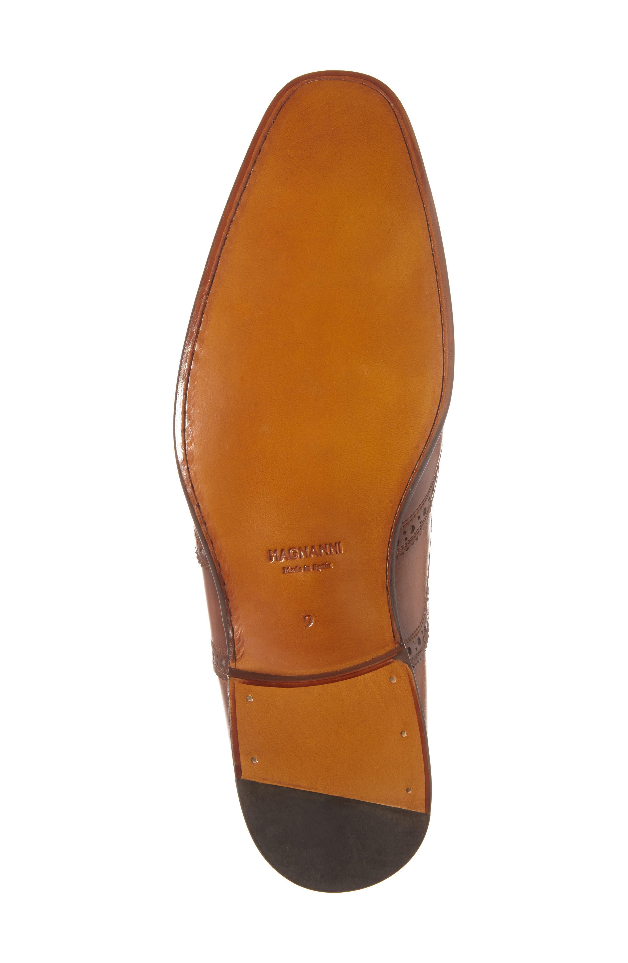 Victorio Wingtip,                             Alternate thumbnail 6, color,                             Cuero Leather