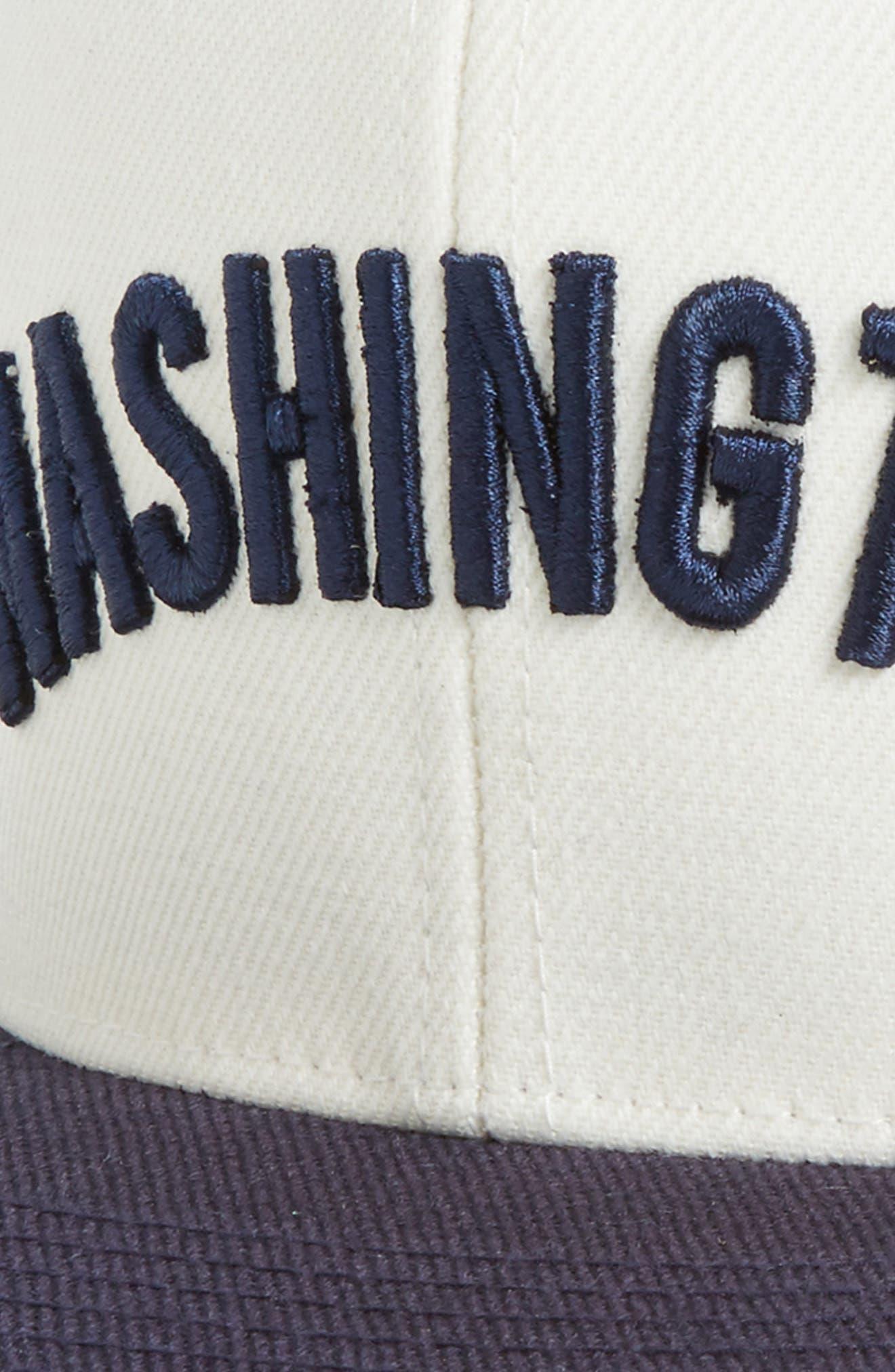 United MLB Snapback Baseball Cap,                             Alternate thumbnail 3, color,                             Nationals
