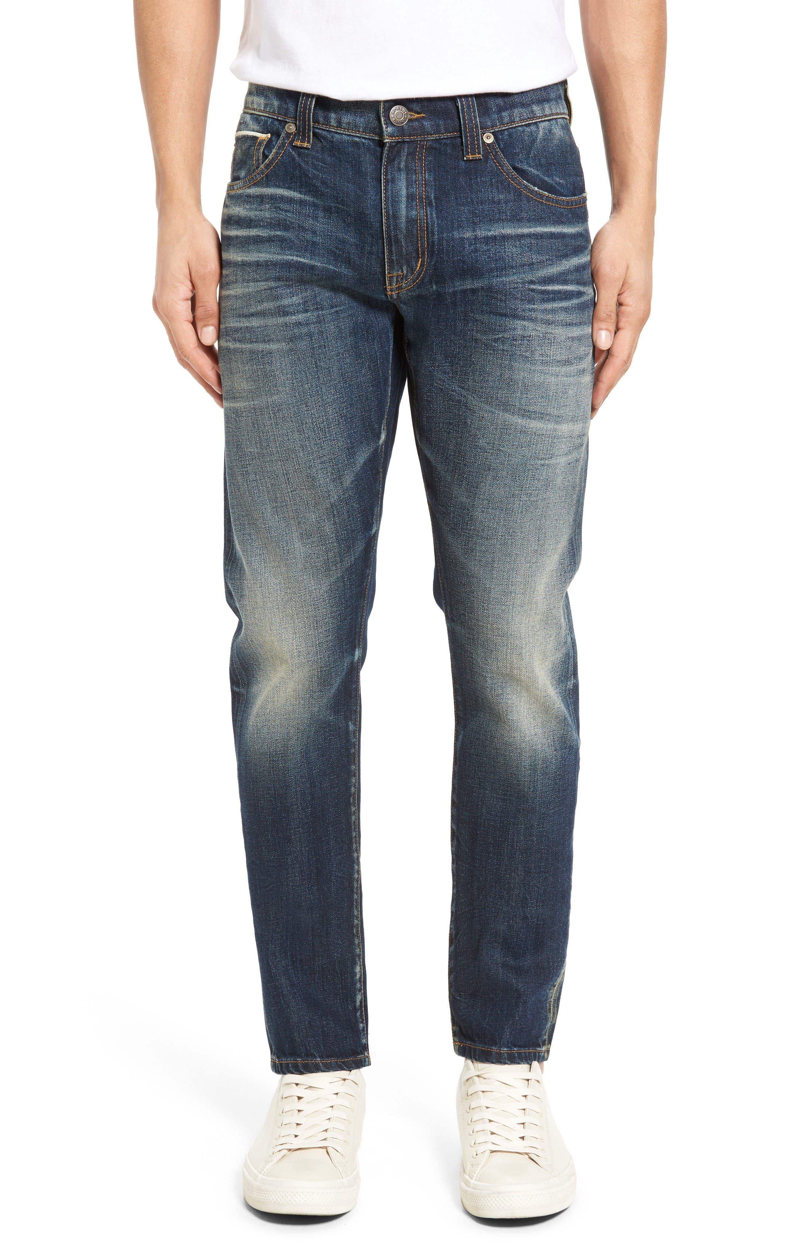 Main Image - Fidelity Denim Torino Slim Fit Jeans (Eagle Dark Vintage)