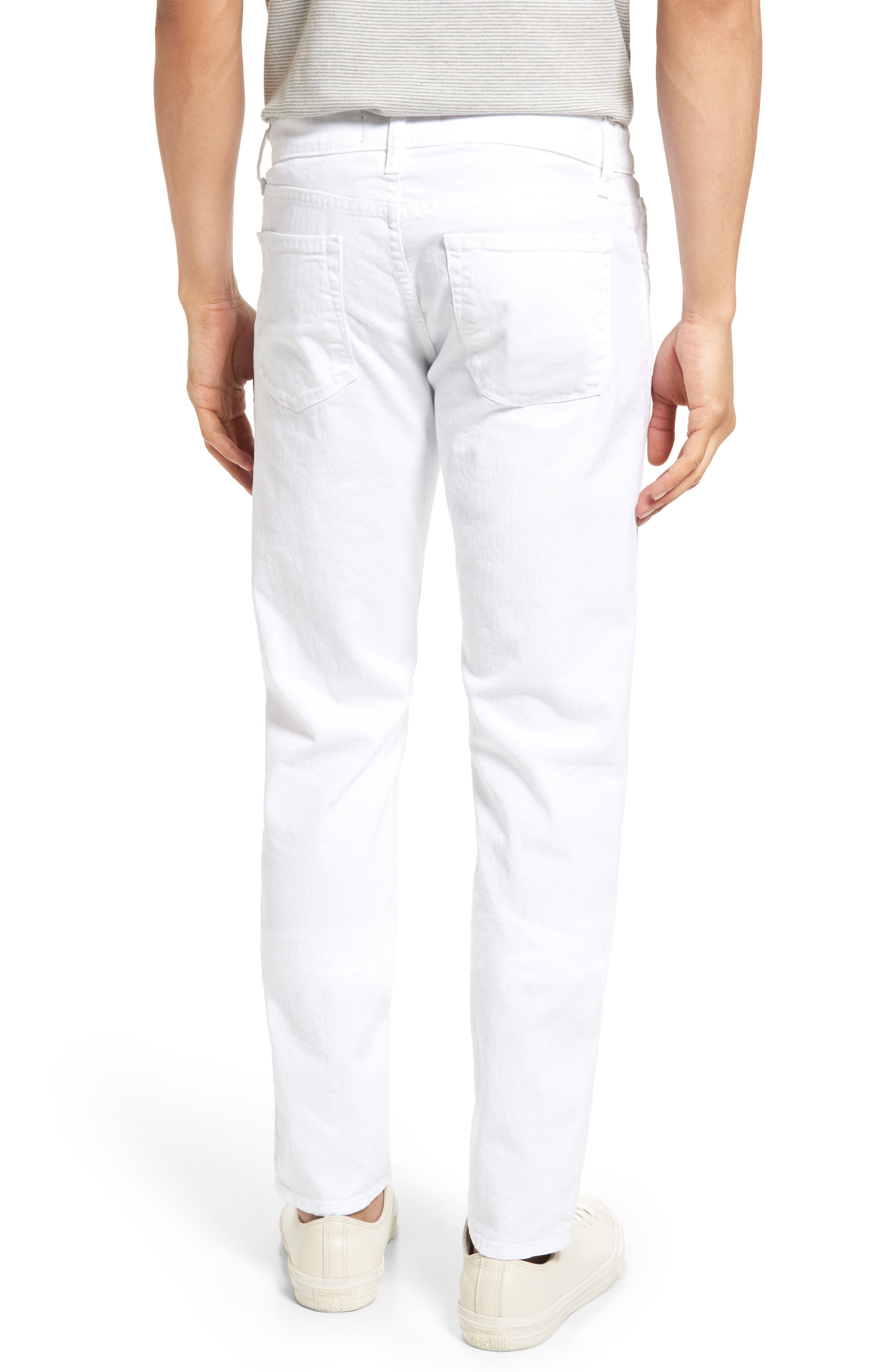 Alternate Image 3  - J Brand Tyler Slim Fit Jeans (Whitman)