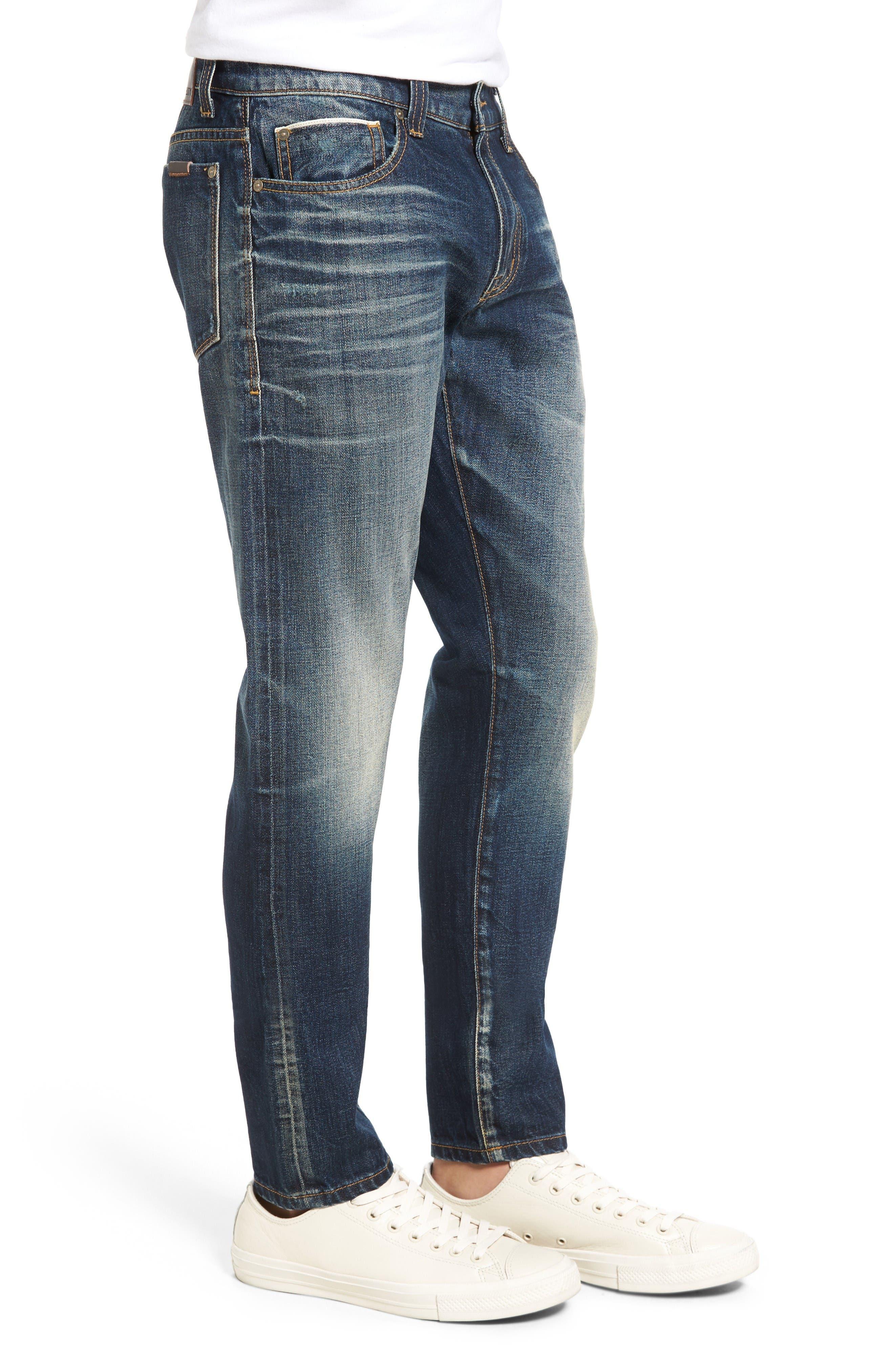 Alternate Image 3  - Fidelity Denim Torino Slim Fit Jeans (Eagle Dark Vintage)