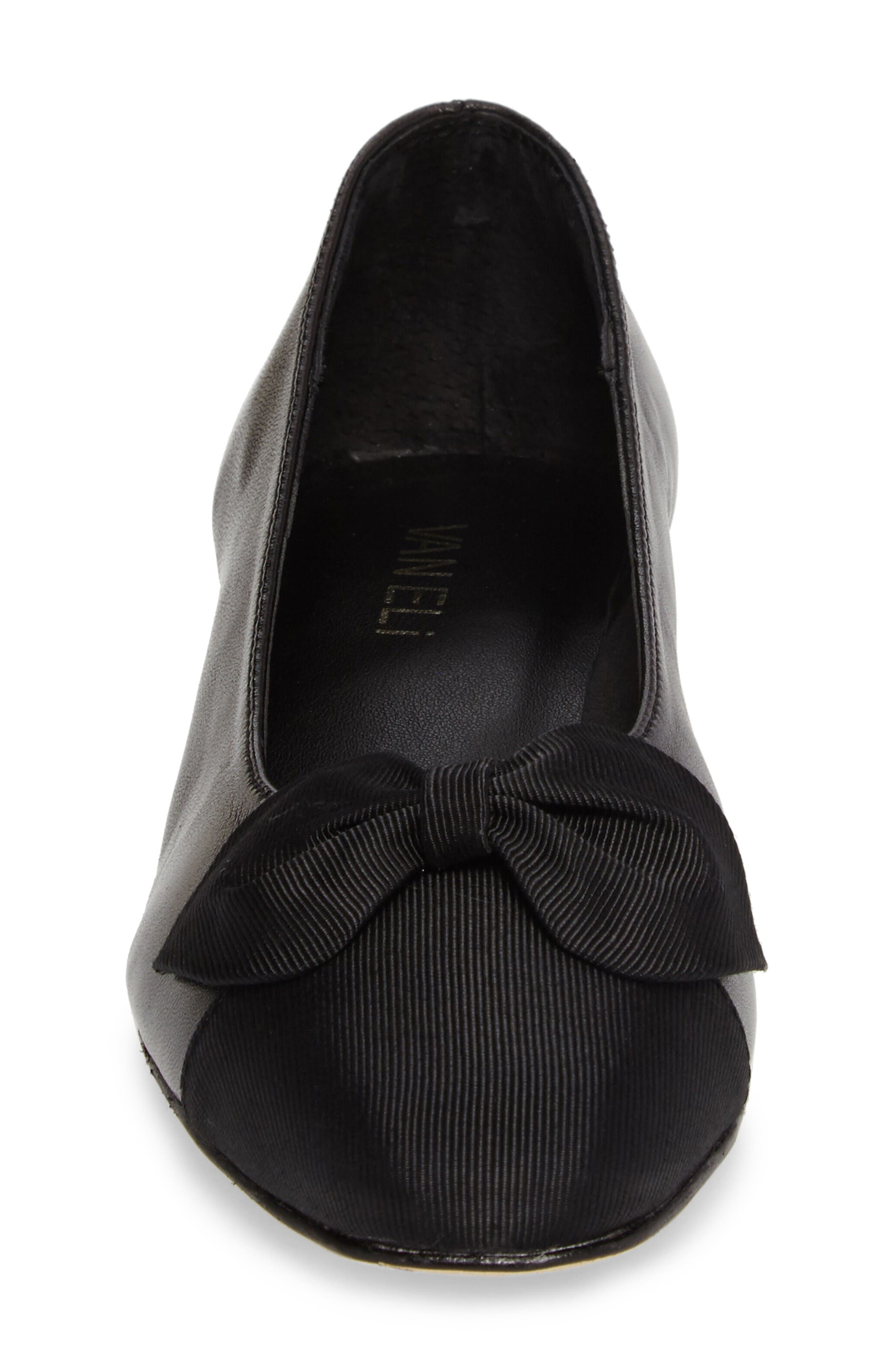 Alternate Image 4  - VANELi Favor Bow Flat (Women)