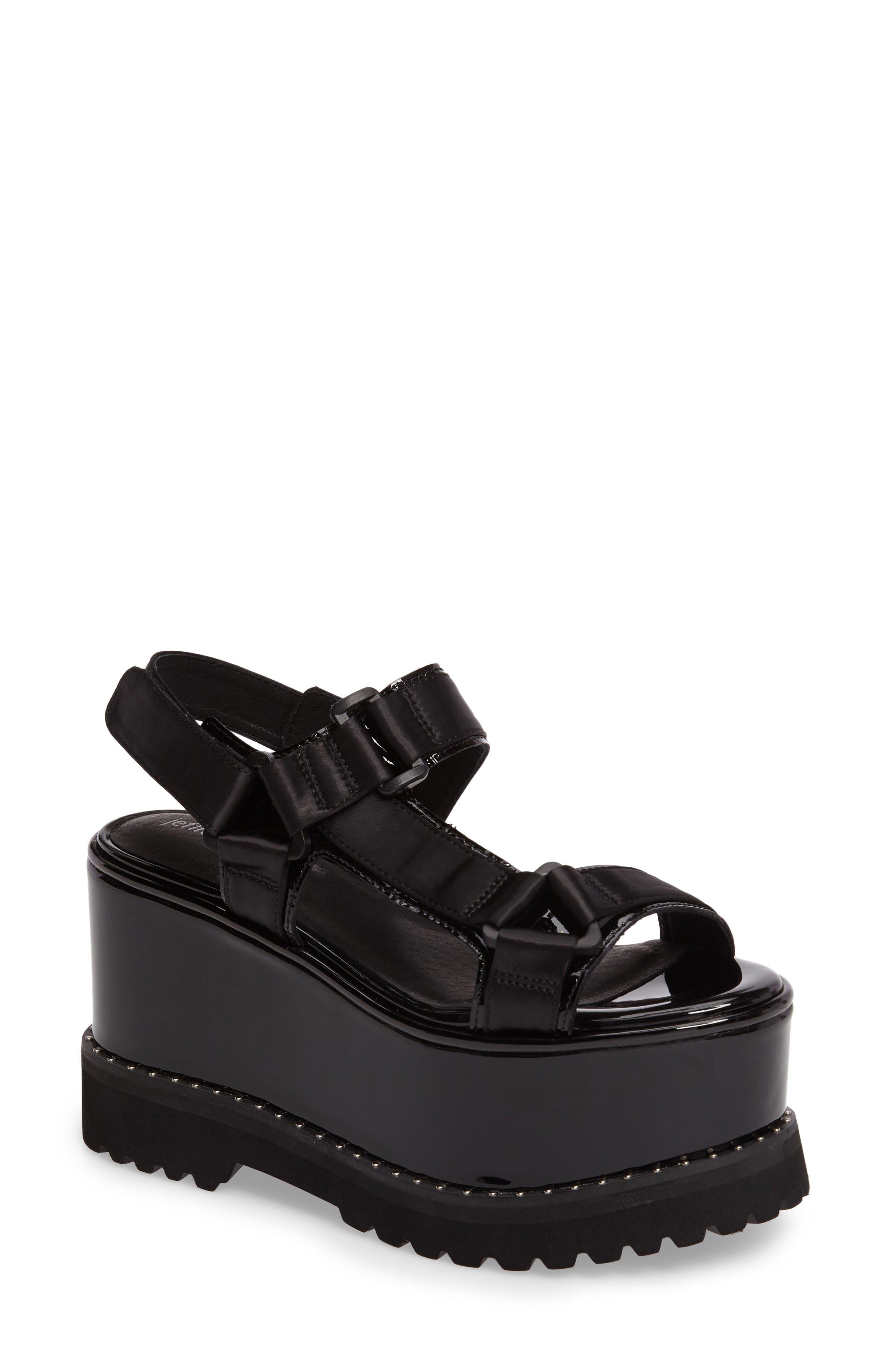 Jeffrey Campbell Windale Studded Platform Sandal (Women)