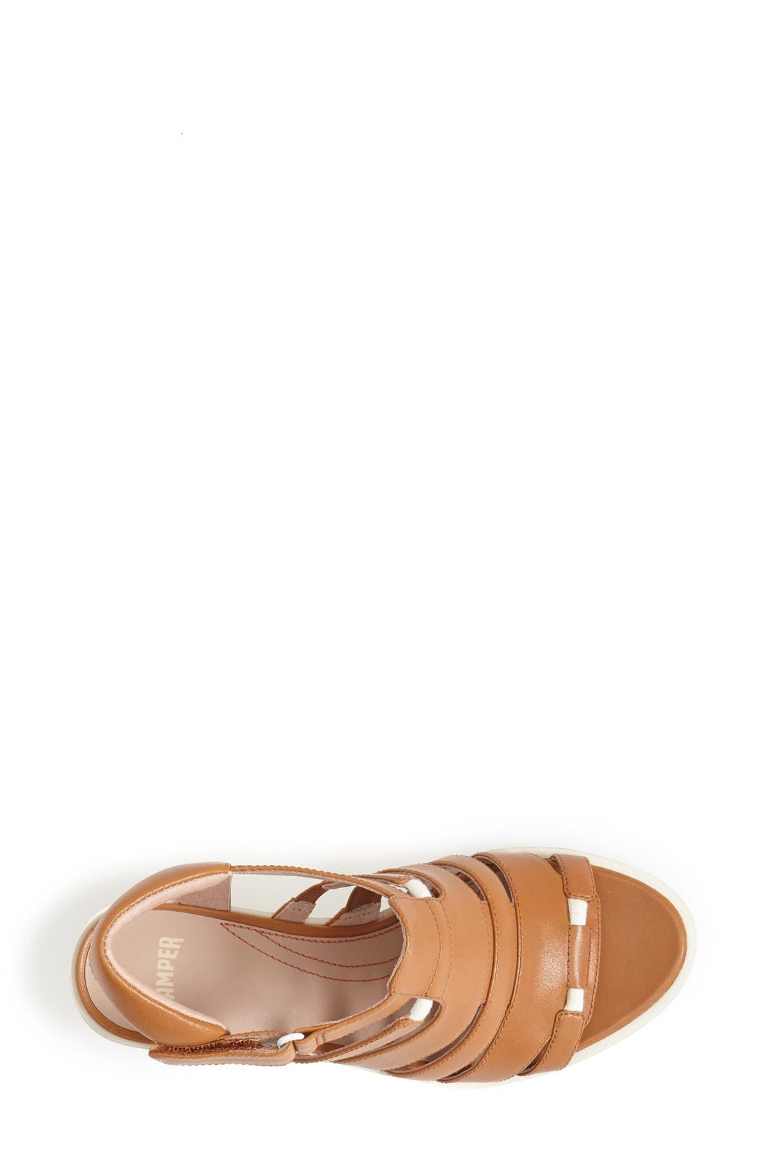 Alternate Image 3  - Camper 'Limi' Strappy Wedge Sandal (Women)