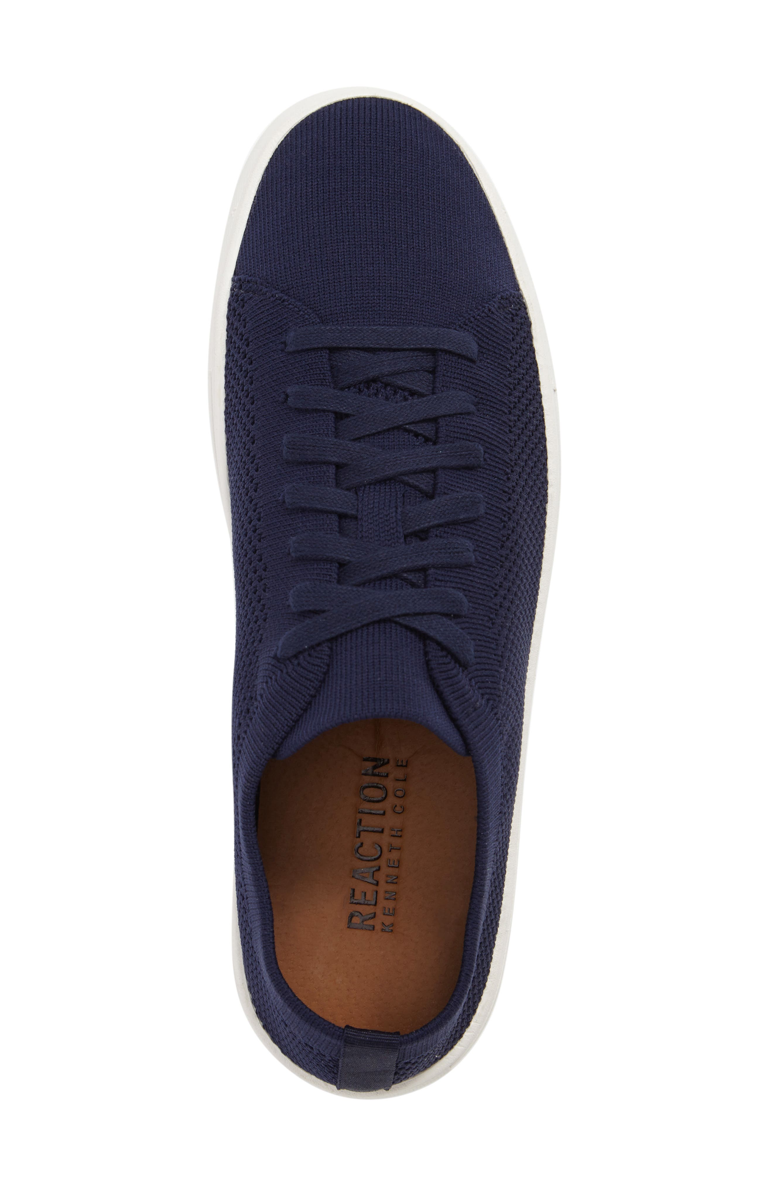 On the Road Woven Sneaker,                             Alternate thumbnail 5, color,                             Navy