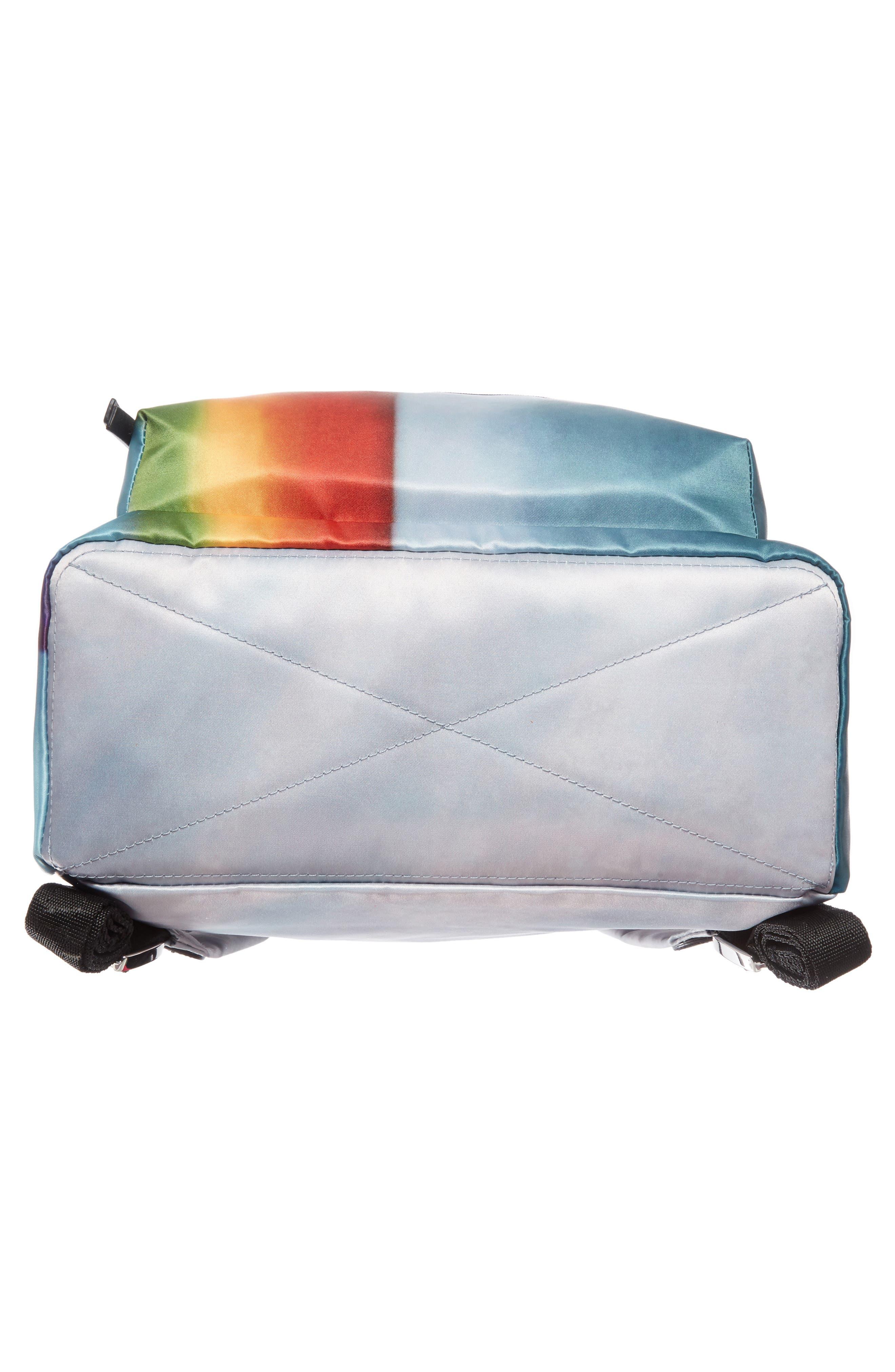 Alternate Image 6  - MARC JACOBS Biker Rainbow Print Backpack
