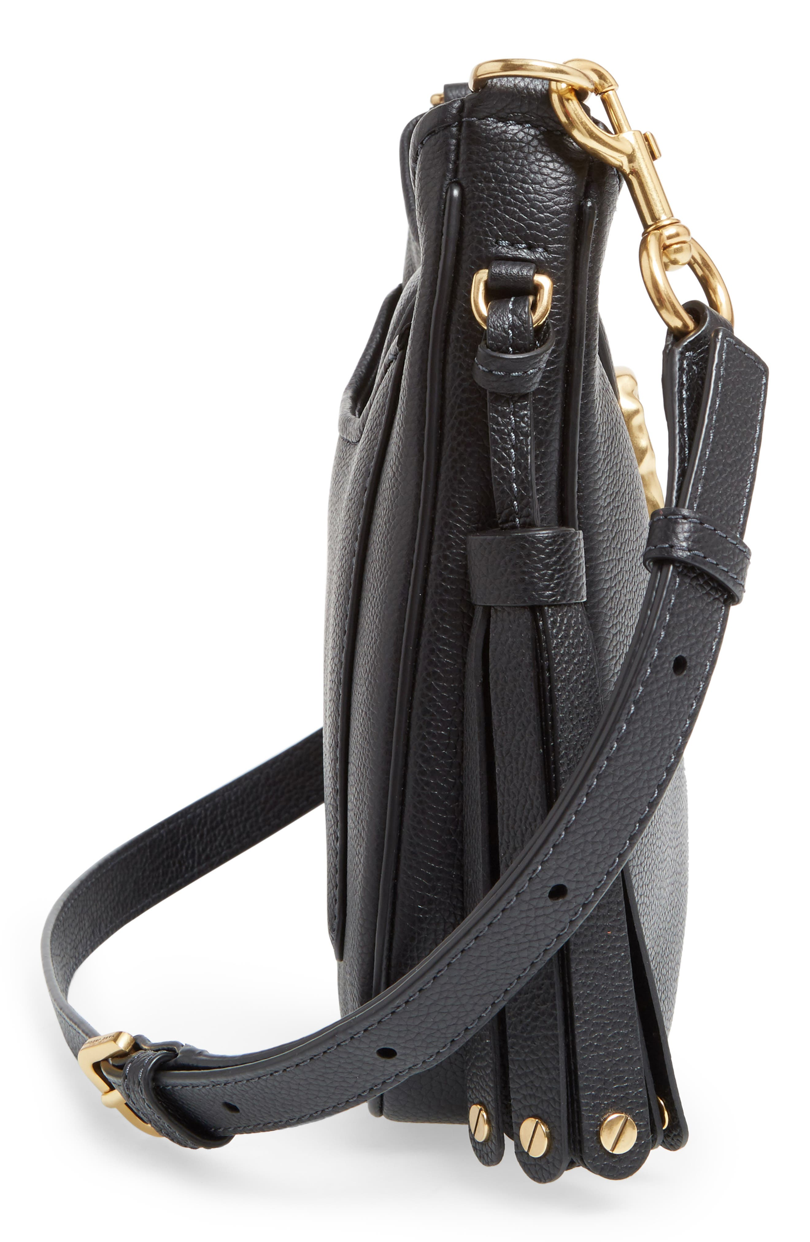 Alternate Image 5  - MARC JACOBS Small Interlock Leather Hobo