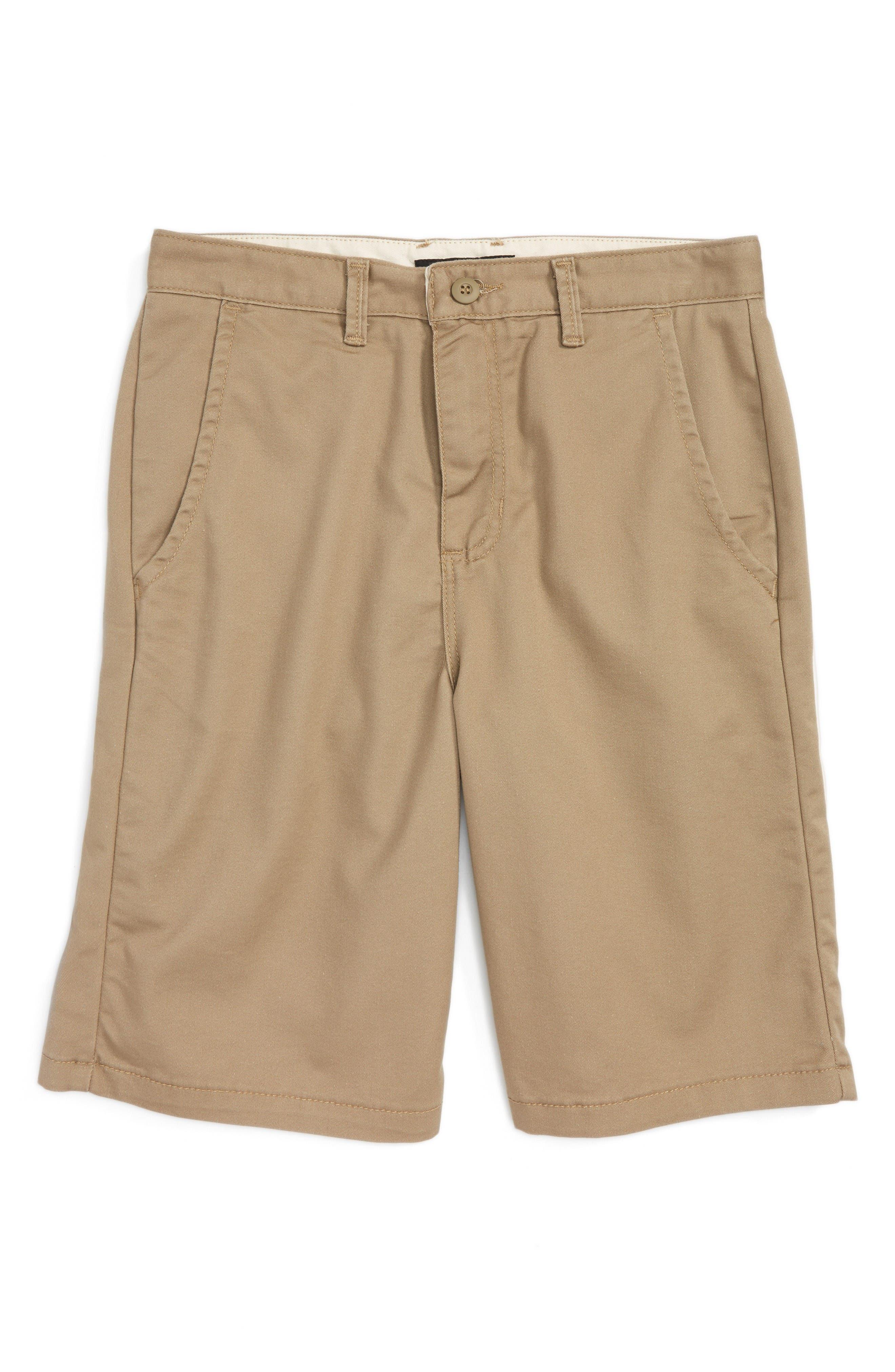 Authentic Walk Shorts,                         Main,                         color, Military Khaki