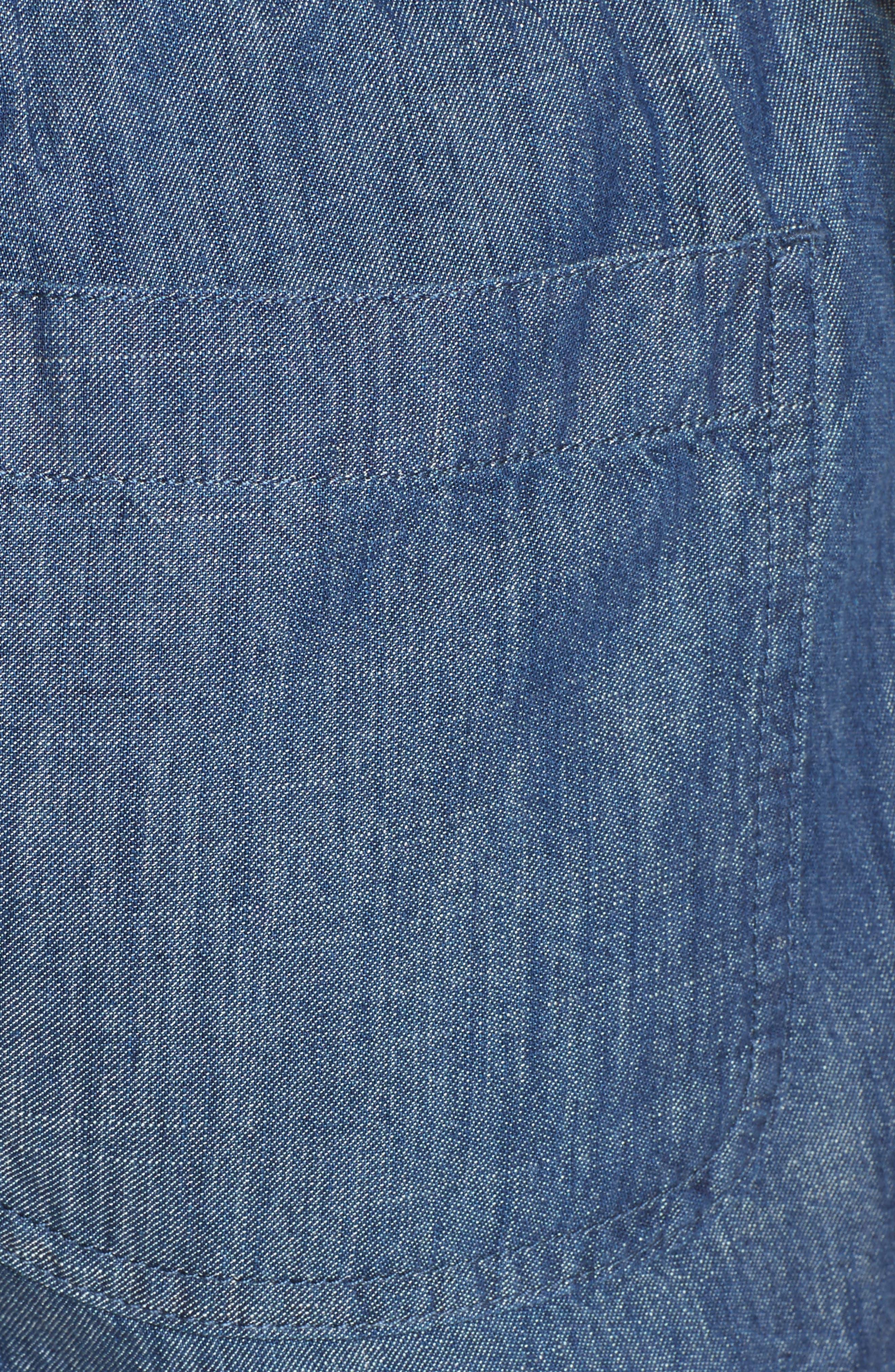 Alternate Image 5  - Soft Joie Kalpana Chambray Shorts