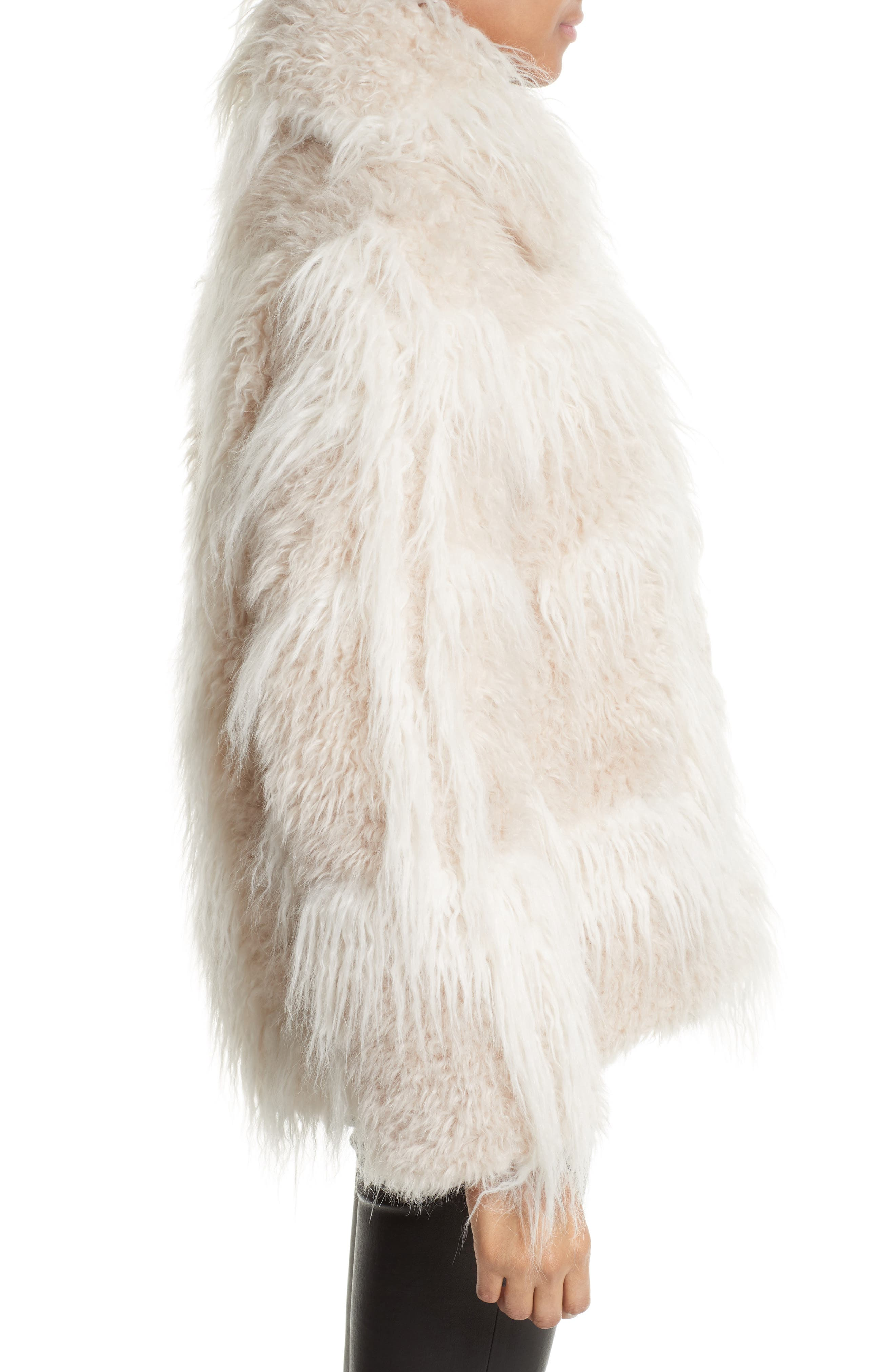 Alternate Image 4  - Helmut Lang Faux Fur Jacket