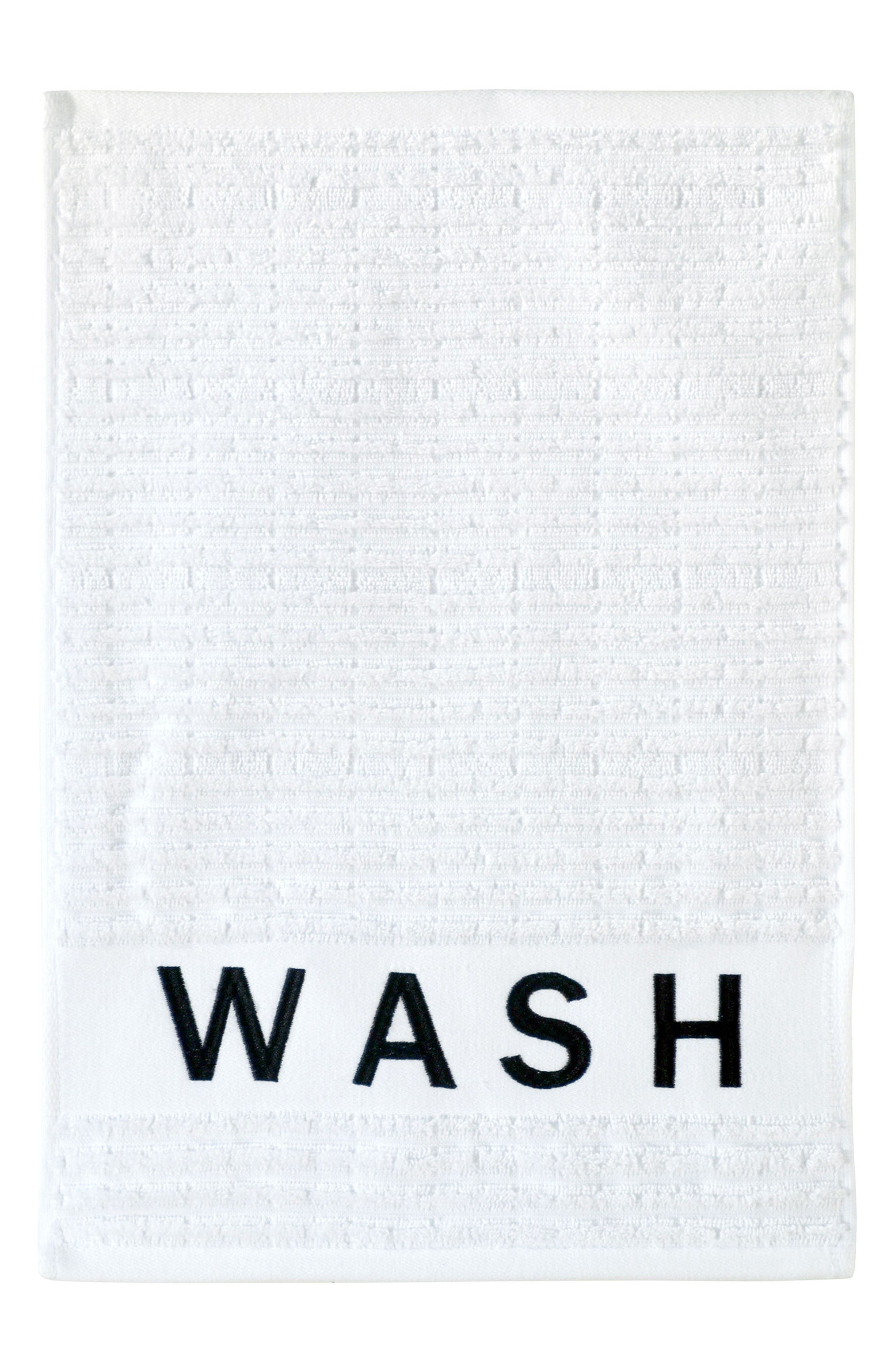 Main Image - DKNY Chatter Fingertip Towel