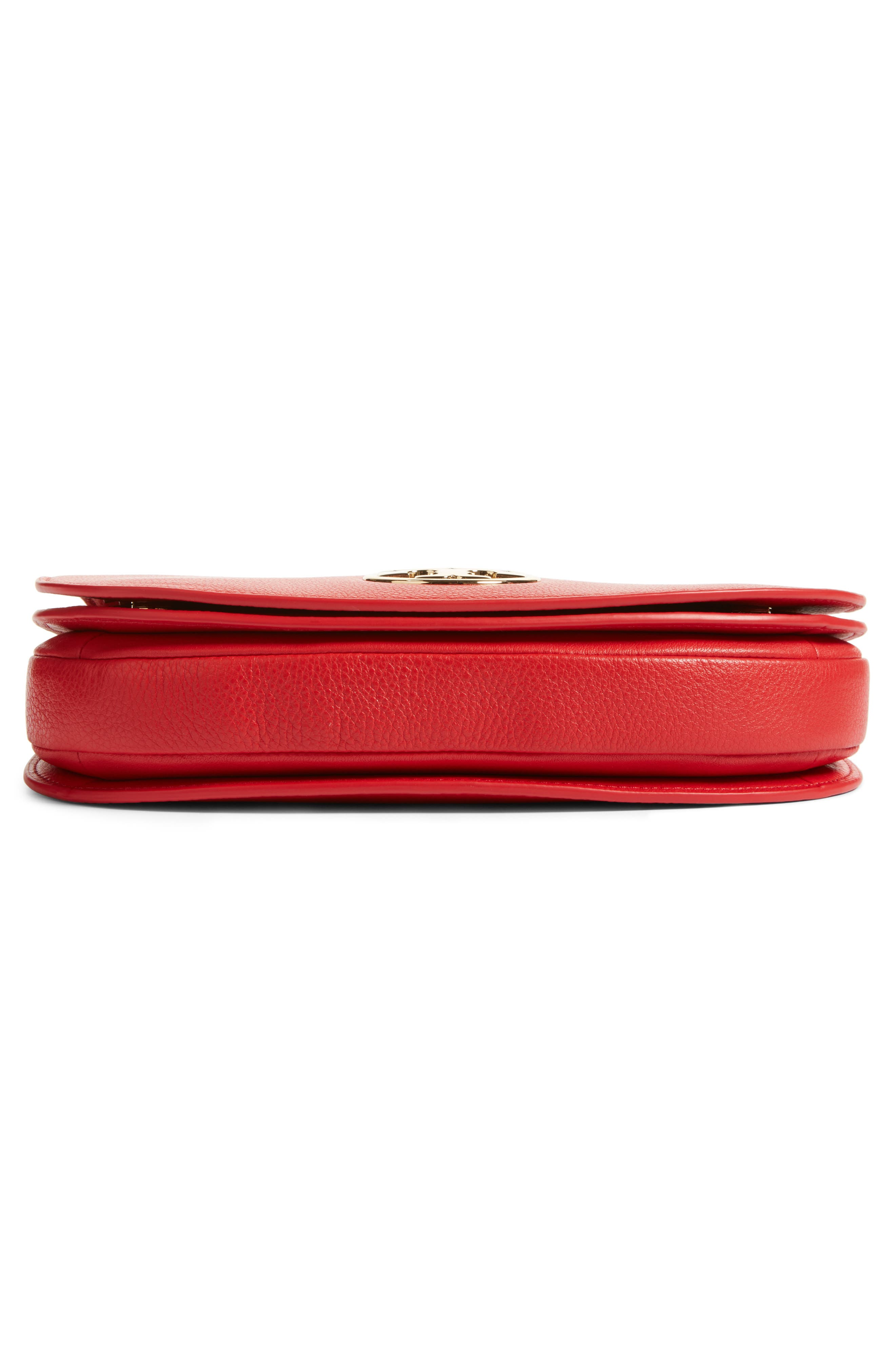 Alternate Image 6  - Tory Burch Jamie Convertible Leather Clutch